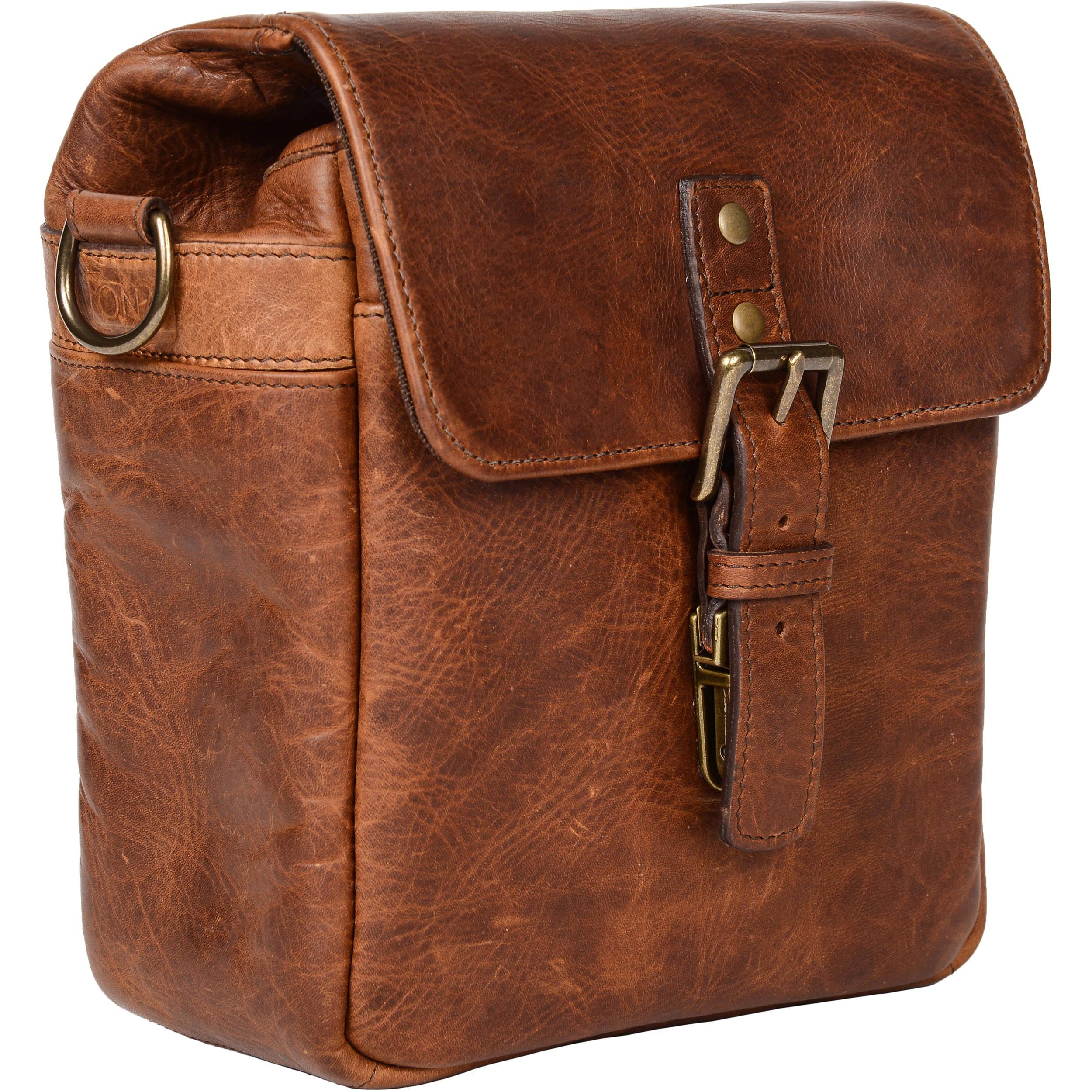 Ona Bond Street Leather Camera Bag Antique Cognac Ona5 064lbr