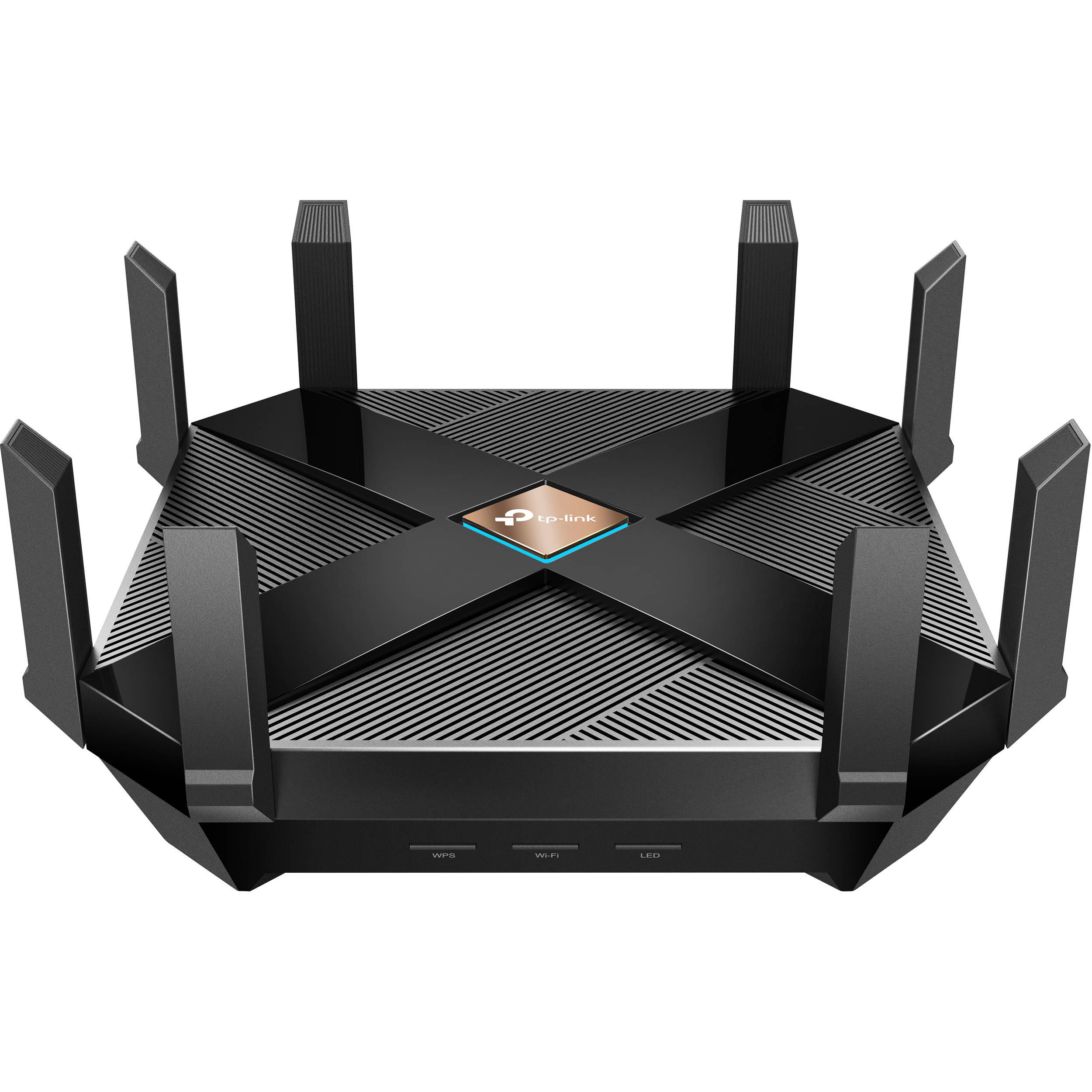 Tp Link Archer Ax6000 Wi Fi Router Archer Ax6000 B H Photo Video