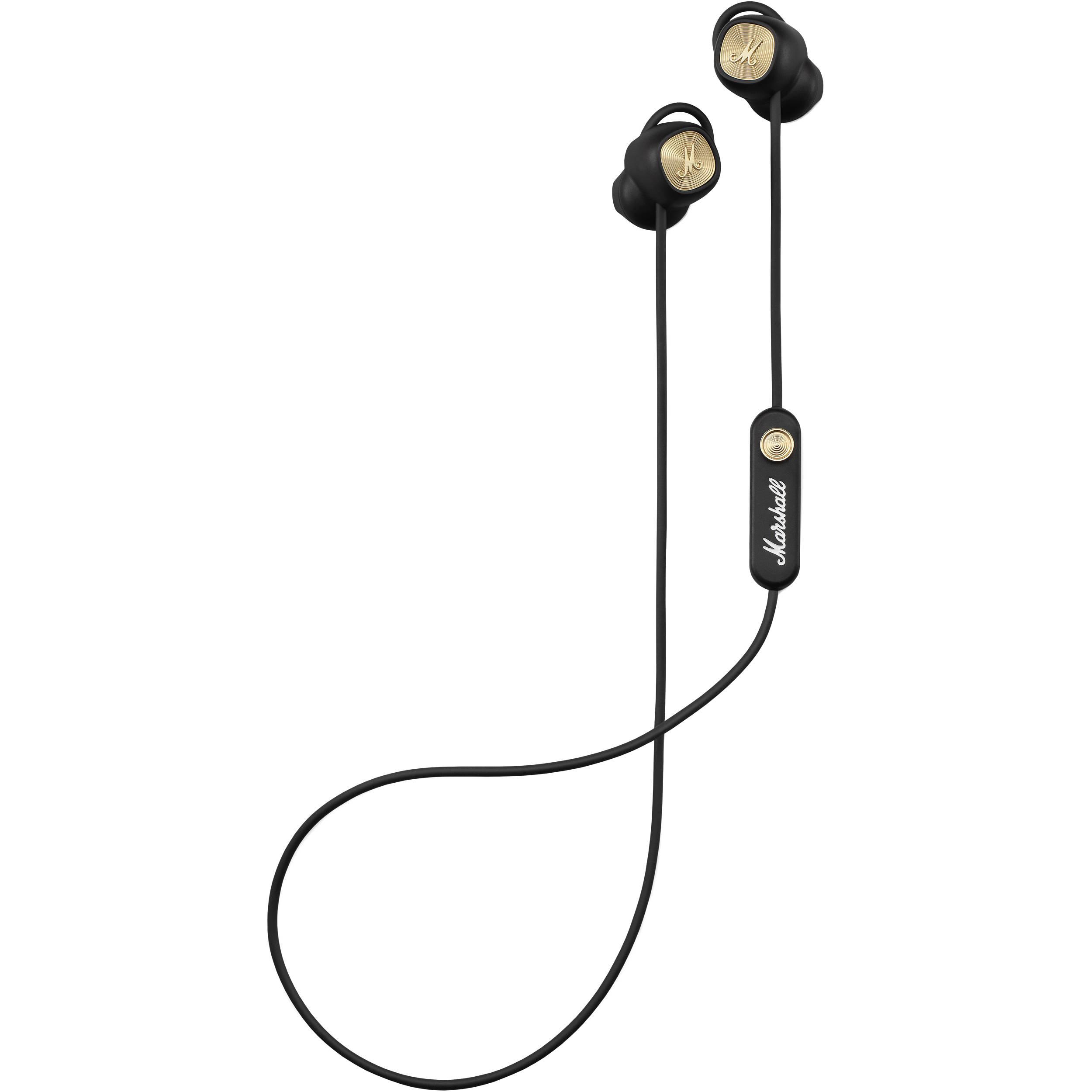Marshall Minor II Bluetooth In-Ear Headphones (Black)