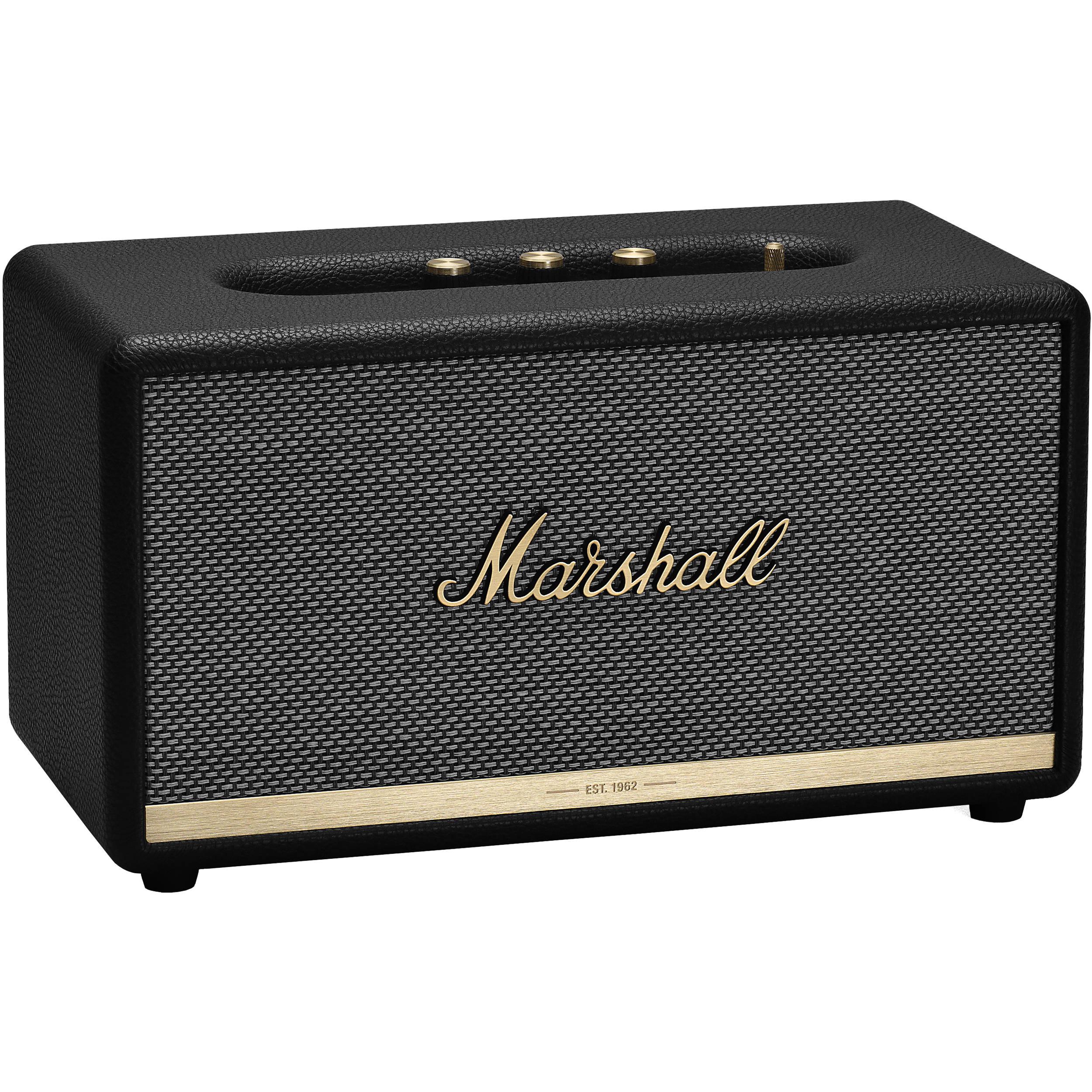 Marshall Stanmore II Bluetooth Speaker System (Black)