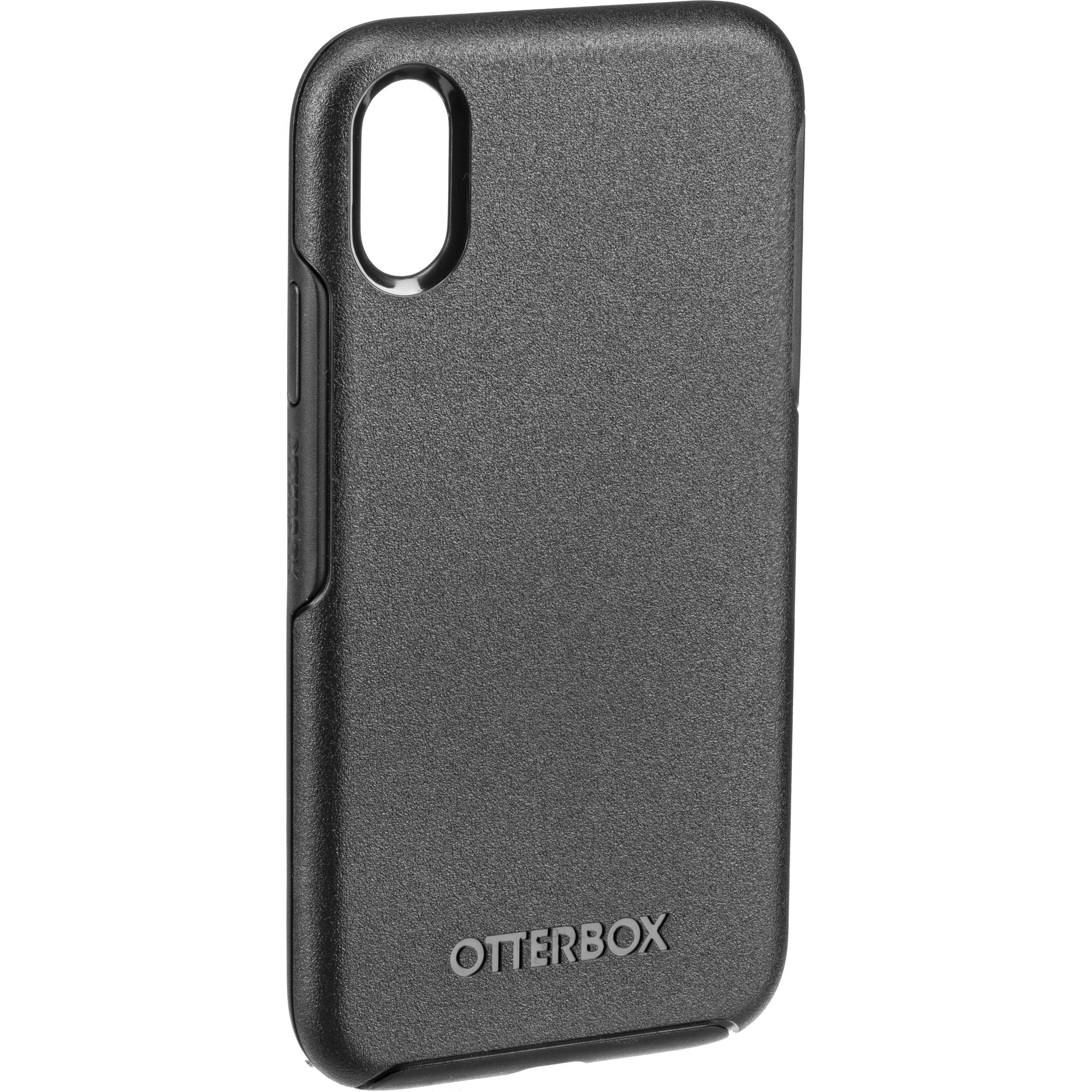new style 950b3 604be OtterBox Symmetry Series Case for iPhone XR (Black) 77-59818 B&H