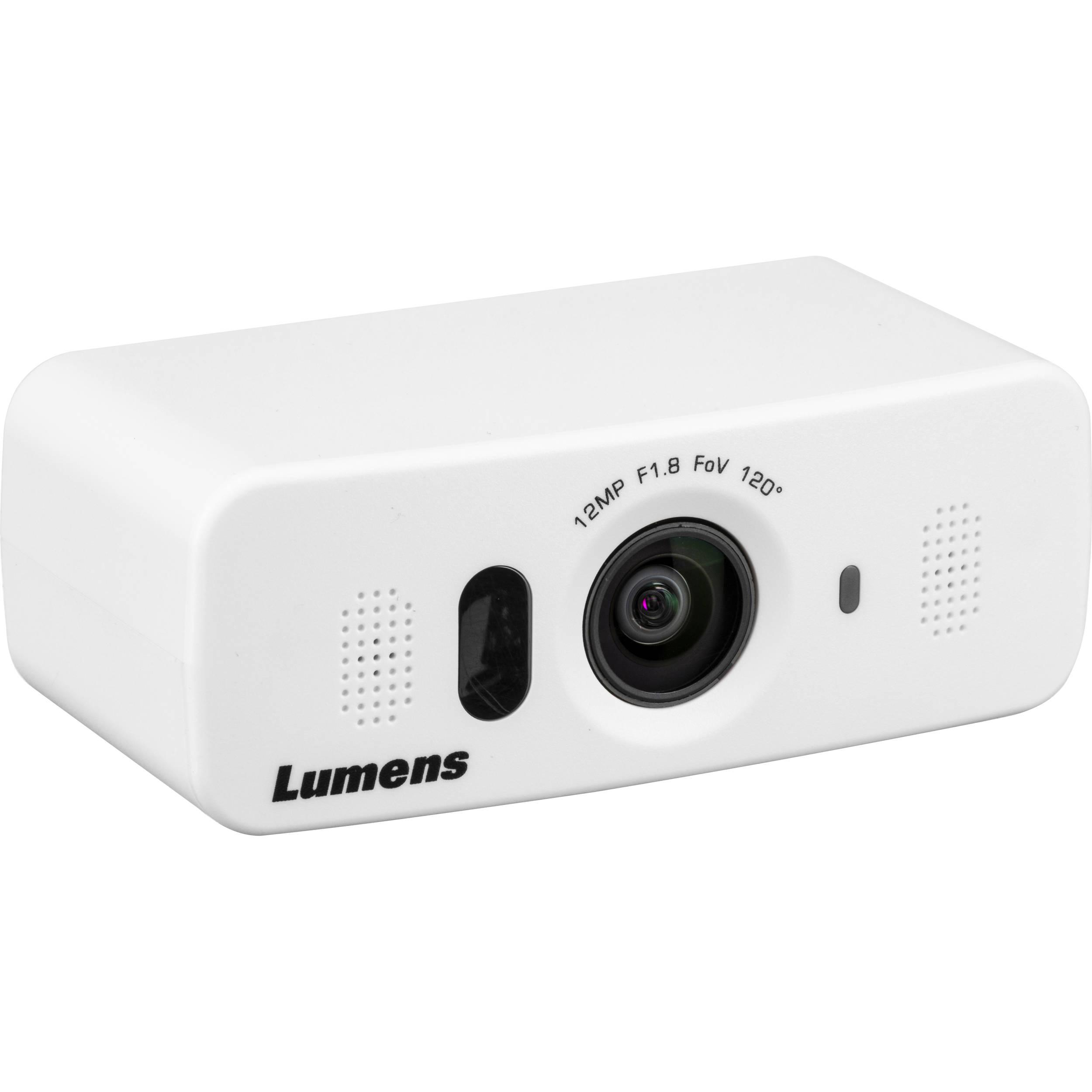 Lumens VC-B10U ePTZ Camera, USB 3 0 (Black)