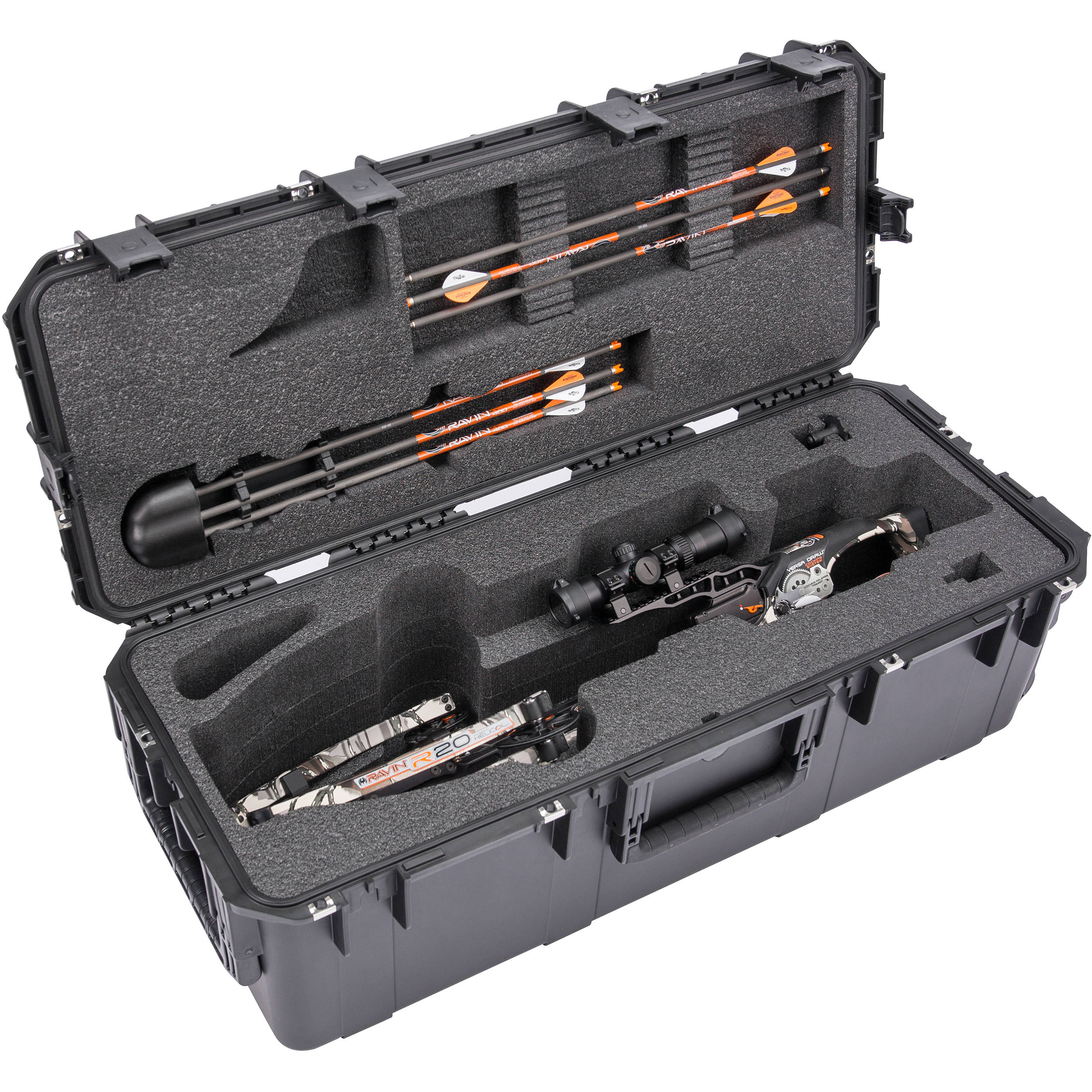 SKB iSeries 3613-12 Ultimate Waterproof Crossbow Case (Black)