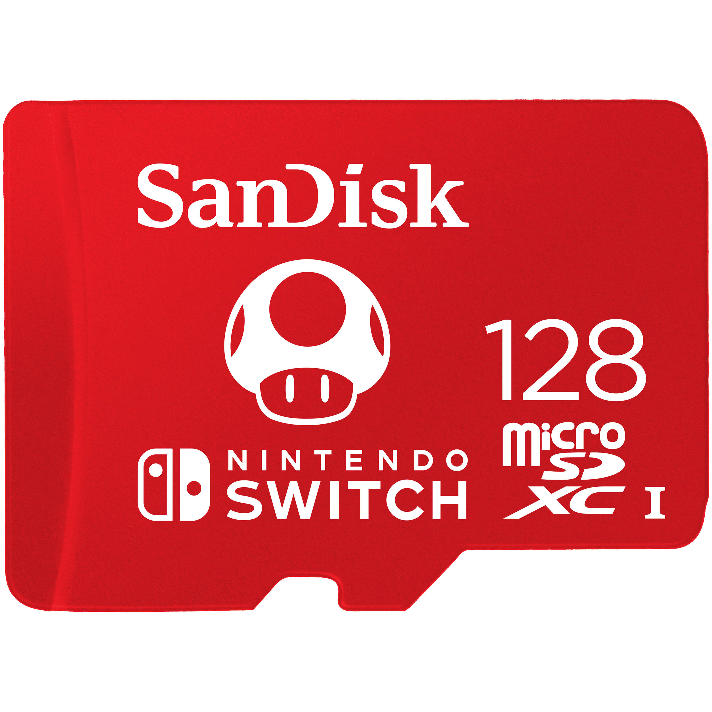 Sandisk 128gb Uhs I Microsdxc Memory Card For The Nintendo Switch