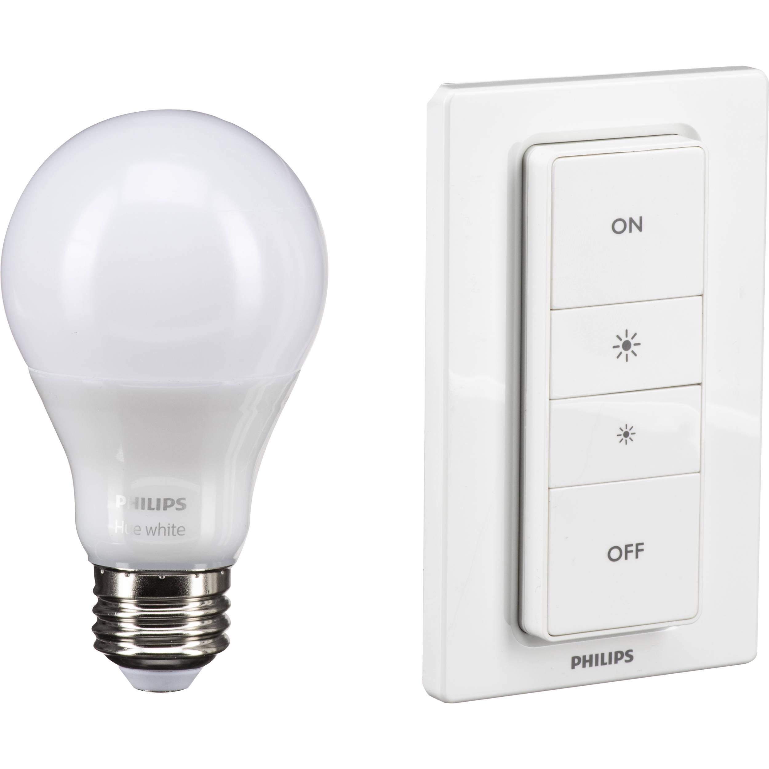 Philips Hue A19 Wireless Dimming Kit (White)
