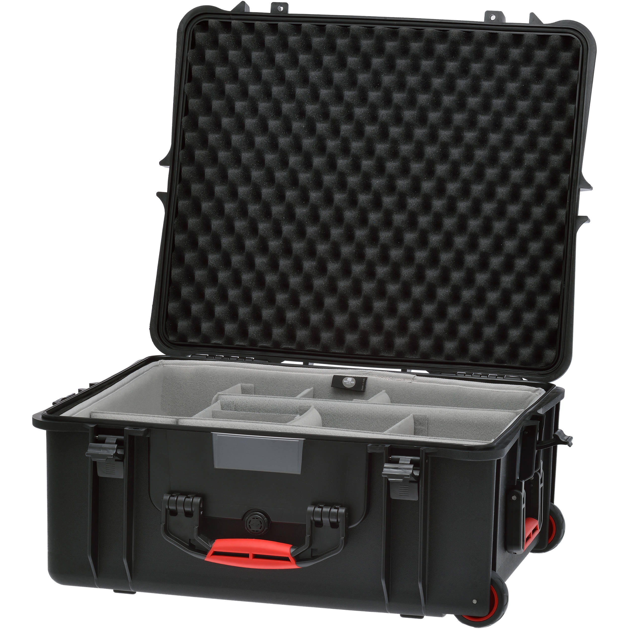346925efaeb3 HPRC 2700W Rolling Resin Case with Second Skin and Dividers Kit (Black)