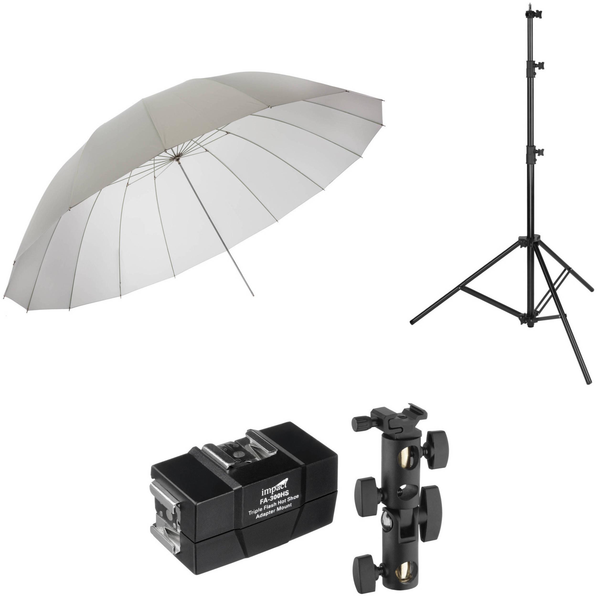 Impact 7/' Parabolic Umbrella Diffuser