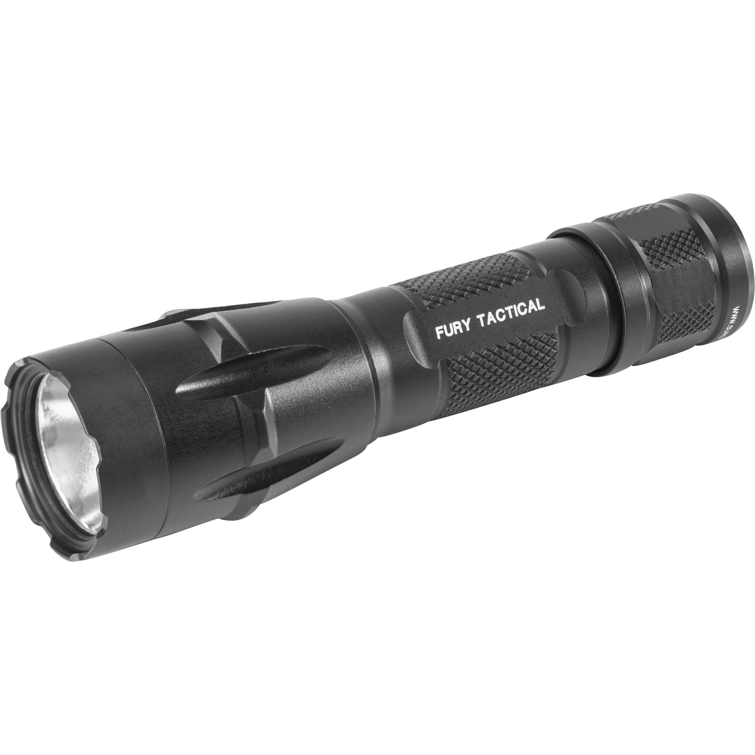 SureFire Fury Dual-Fuel Tactical LED Flashlight