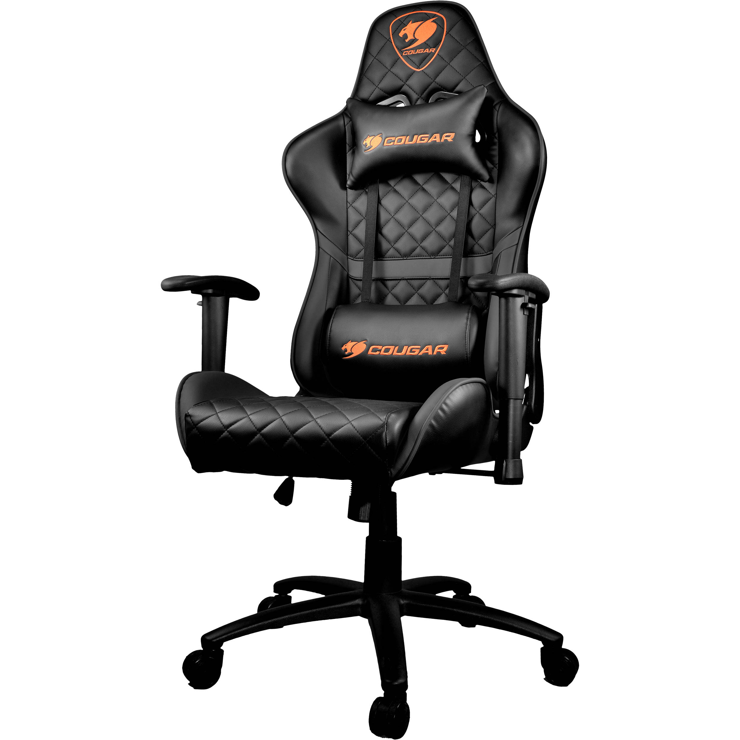 Stupendous Cougar Armor One Gaming Chair Black Uwap Interior Chair Design Uwaporg