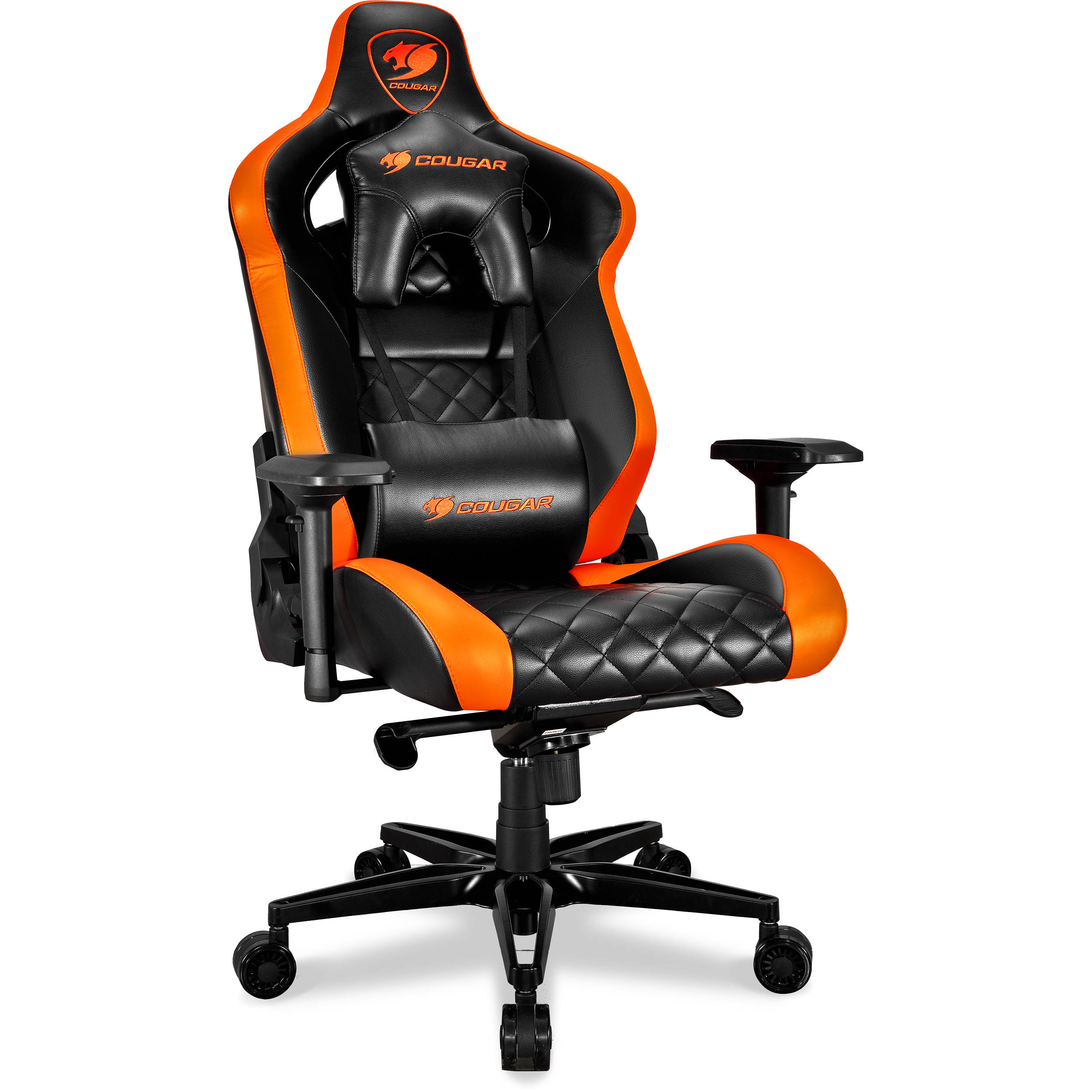 Pleasing Cougar Armor Titan Gaming Chair Black Orange Ocoug Best Dining Table And Chair Ideas Images Ocougorg