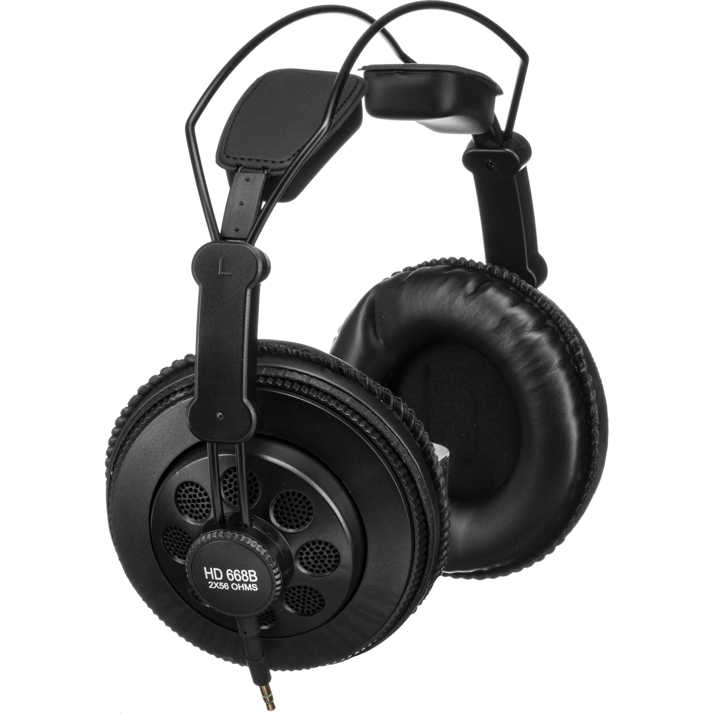Superlux Hd 668b Professional Semi Open Studio Headphones
