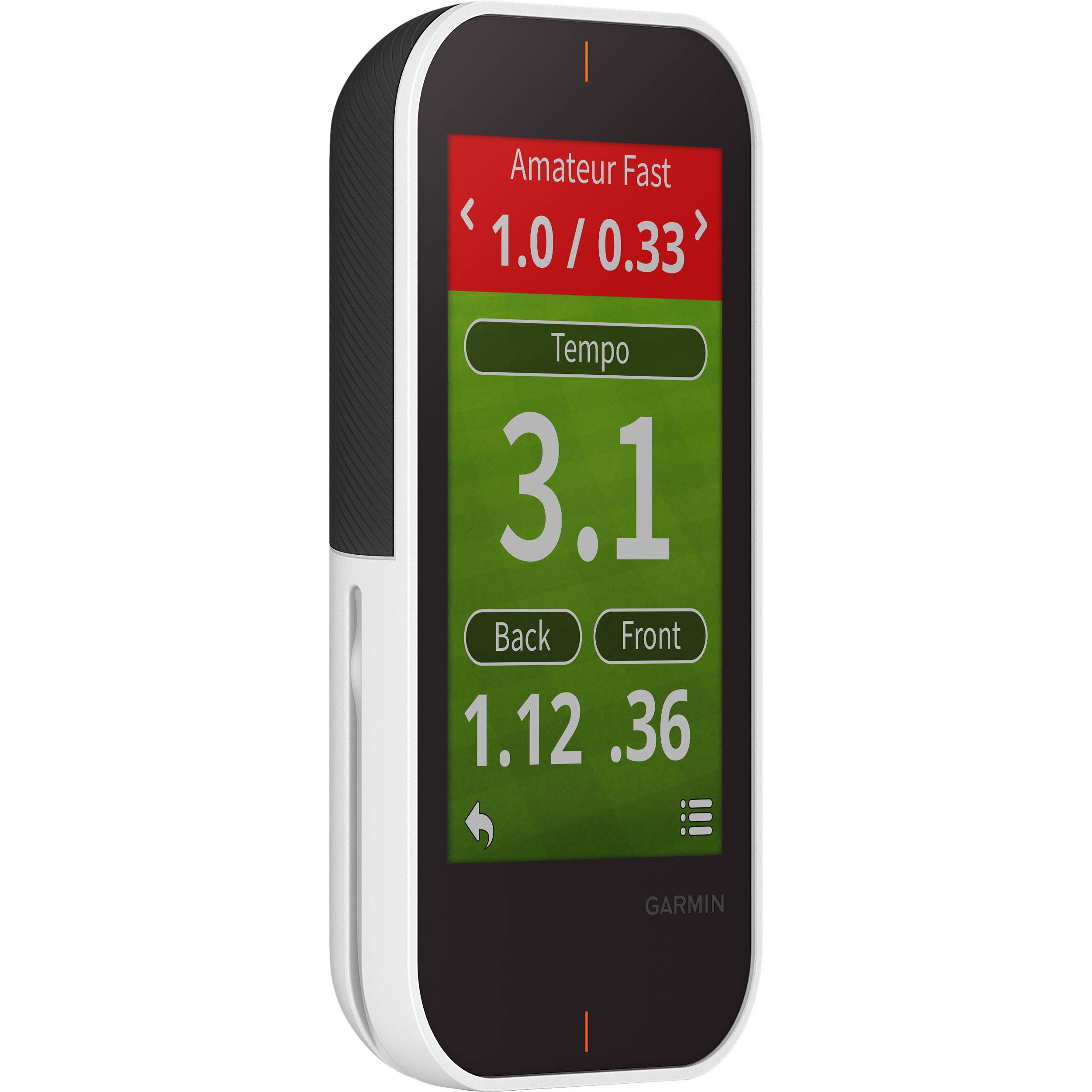 Garmin Approach G80 Handheld Golf GPS & Launch Monitor