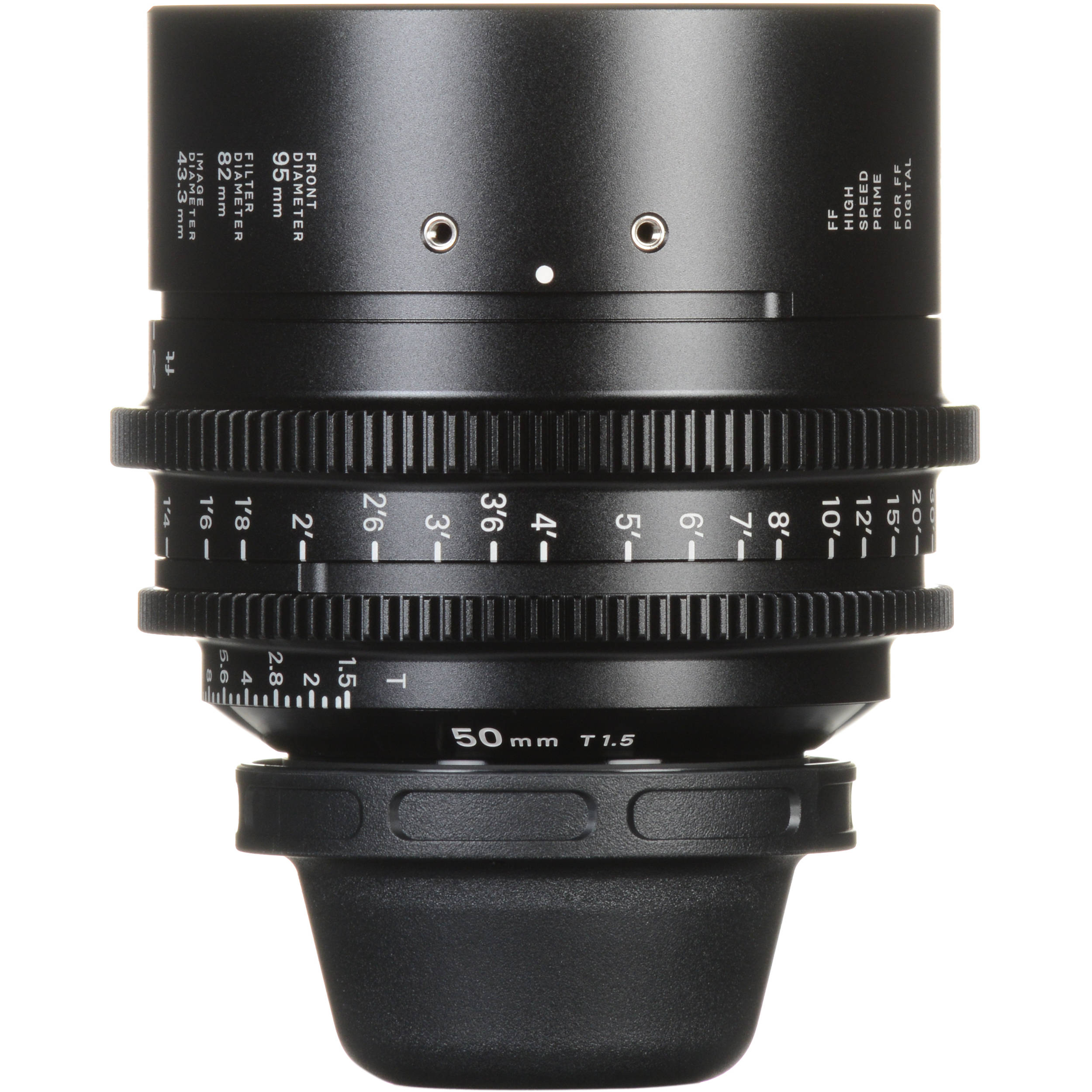 Sigma 50mm T1 5 FF High-Speed Prime (EF Mount, Feet)