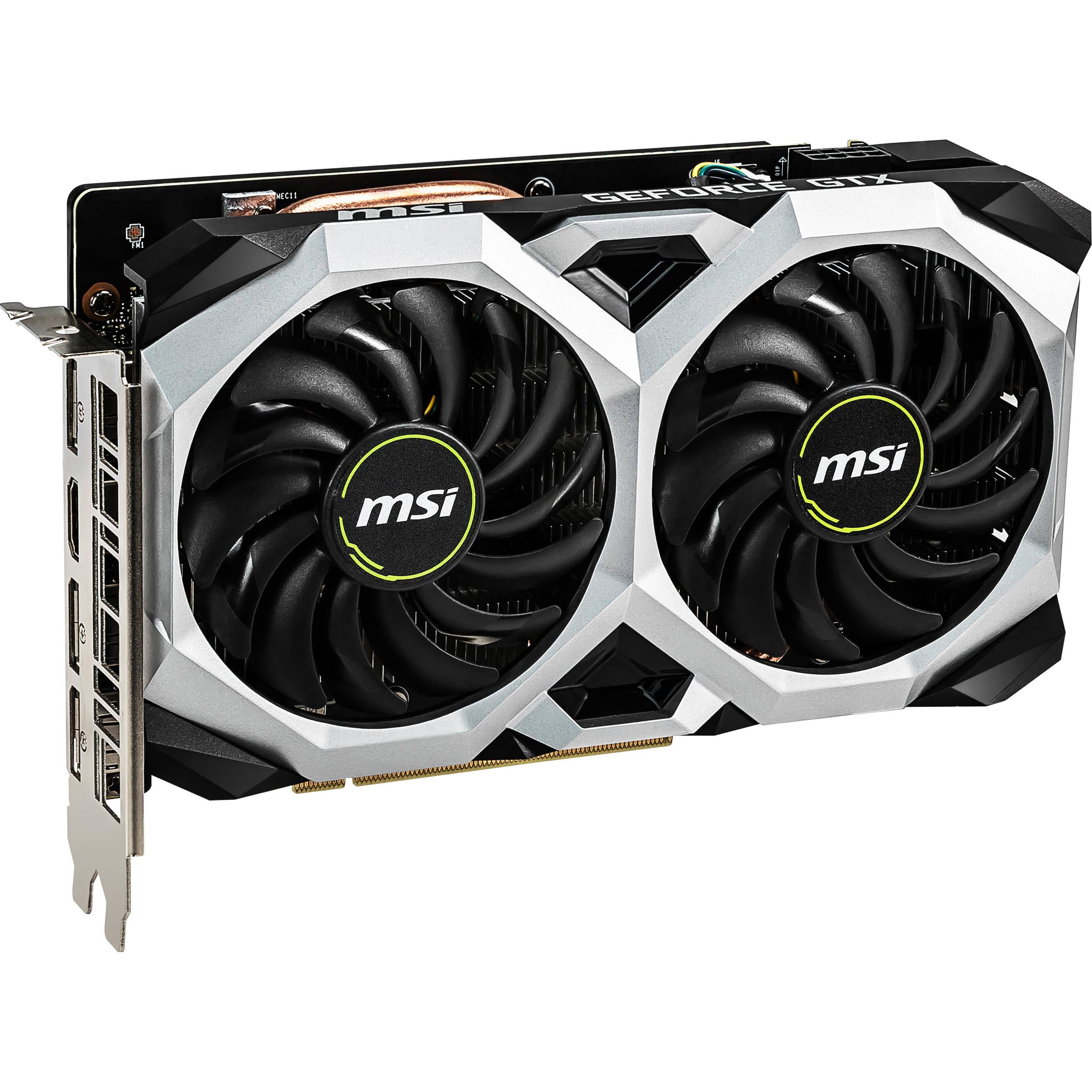 MSI GeForce GTX 1660 Ti VENTUS XS OC Graphics Card