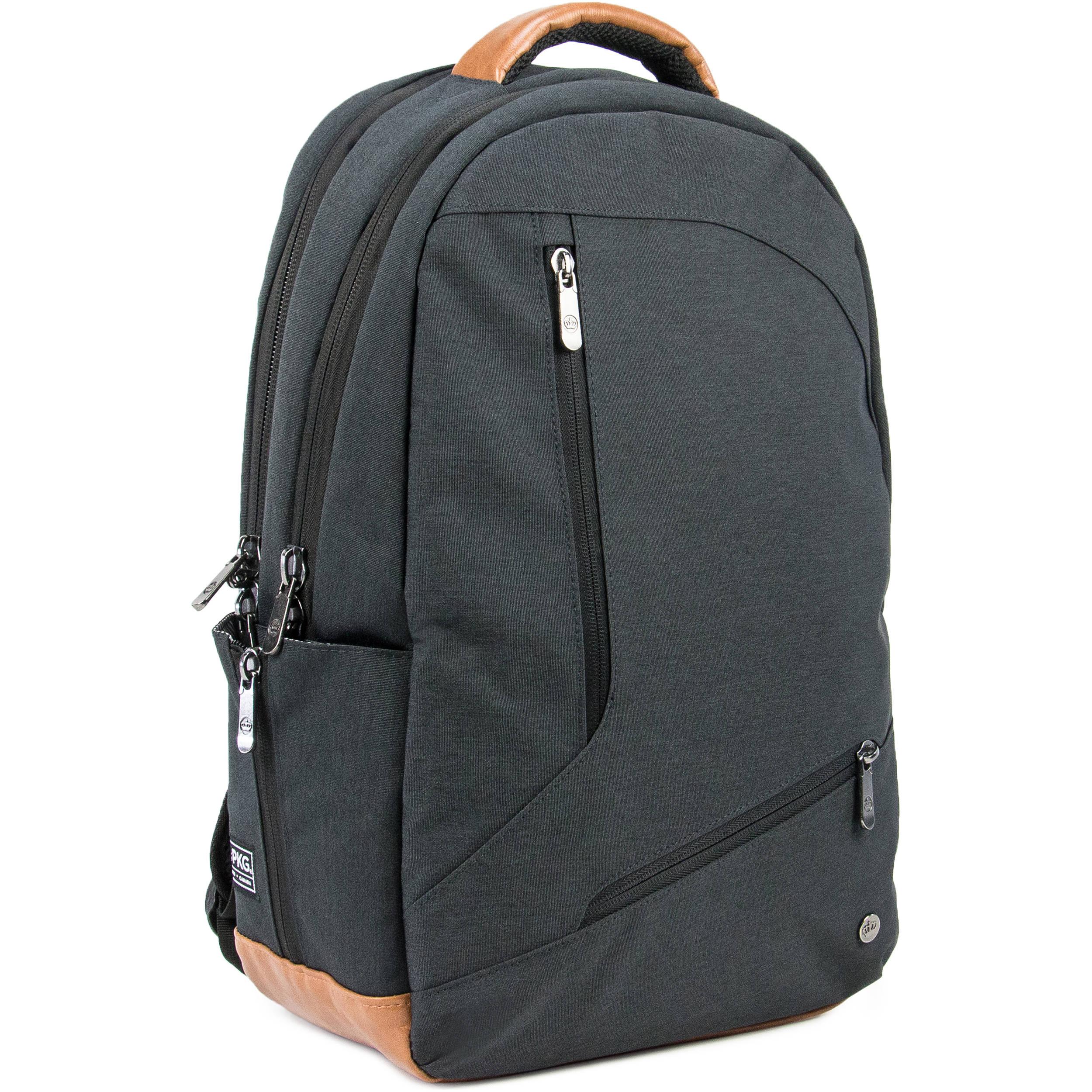 PKG International Durham High Volume Backpack (Dark Gray)
