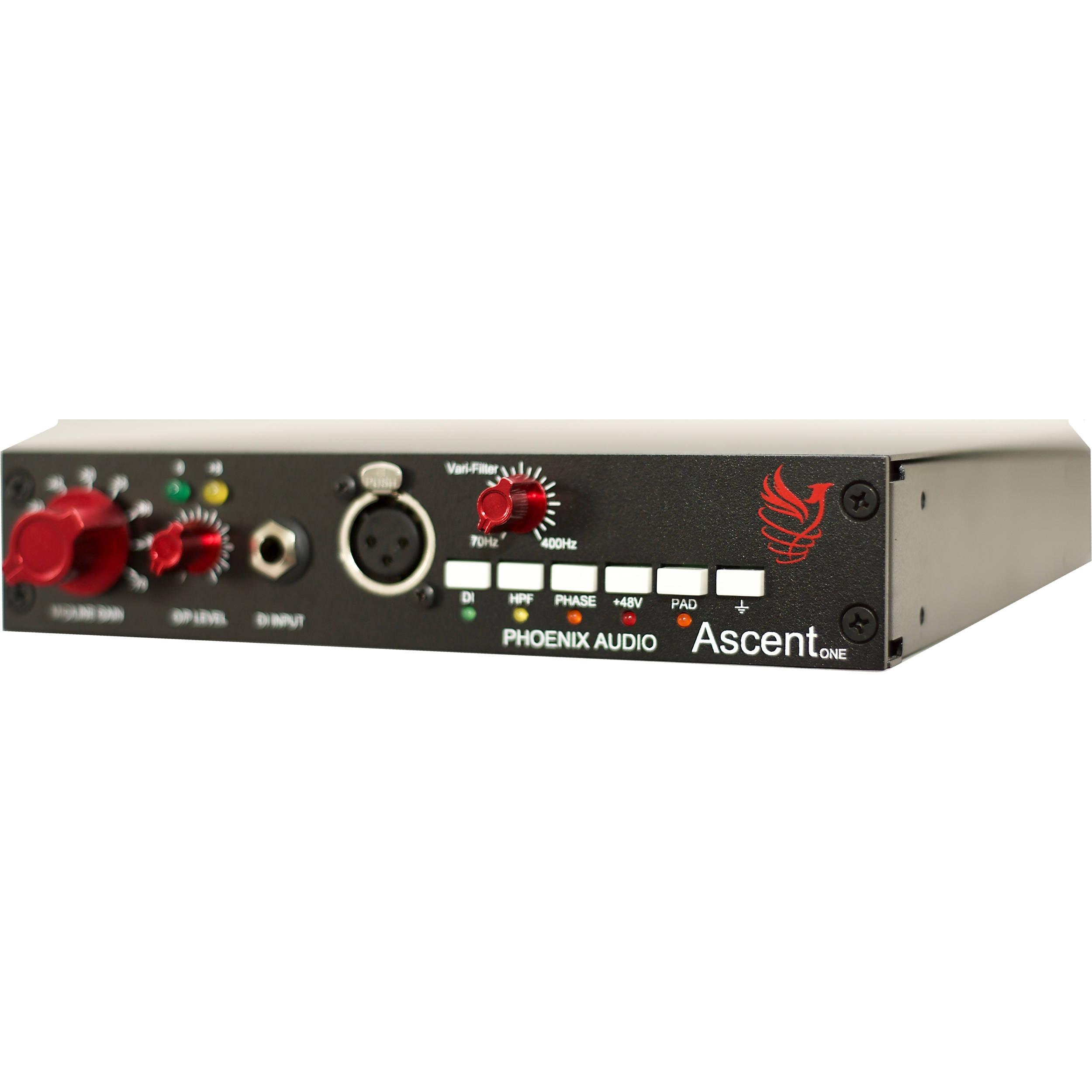 Phoenix Audio Ascent One Class-A Mono Microphone Pre-Amplifier/DI