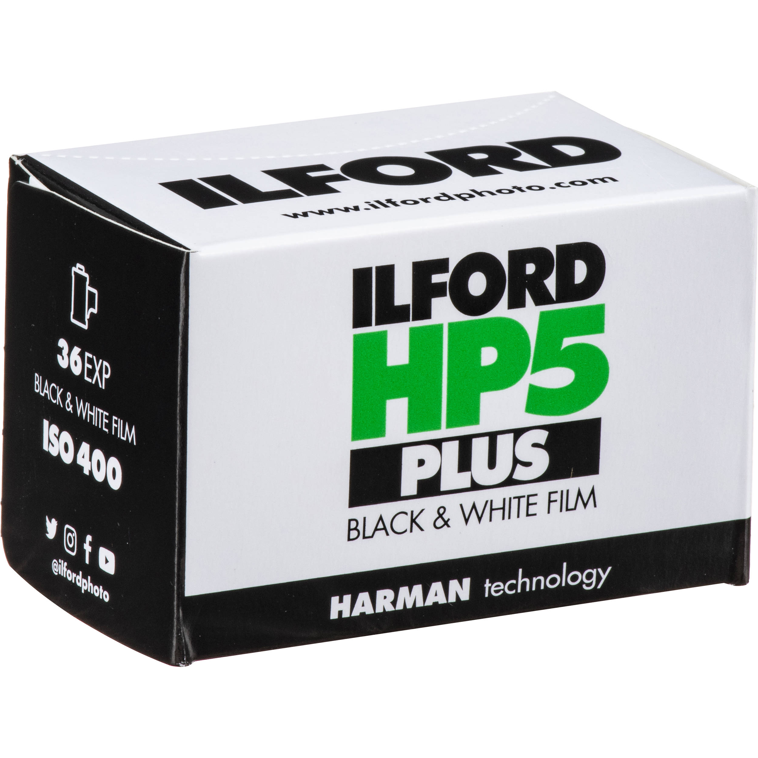 4 x Ilford HP5 Plus 120 Black /& White Roll Film 400 ISO 36 EXP