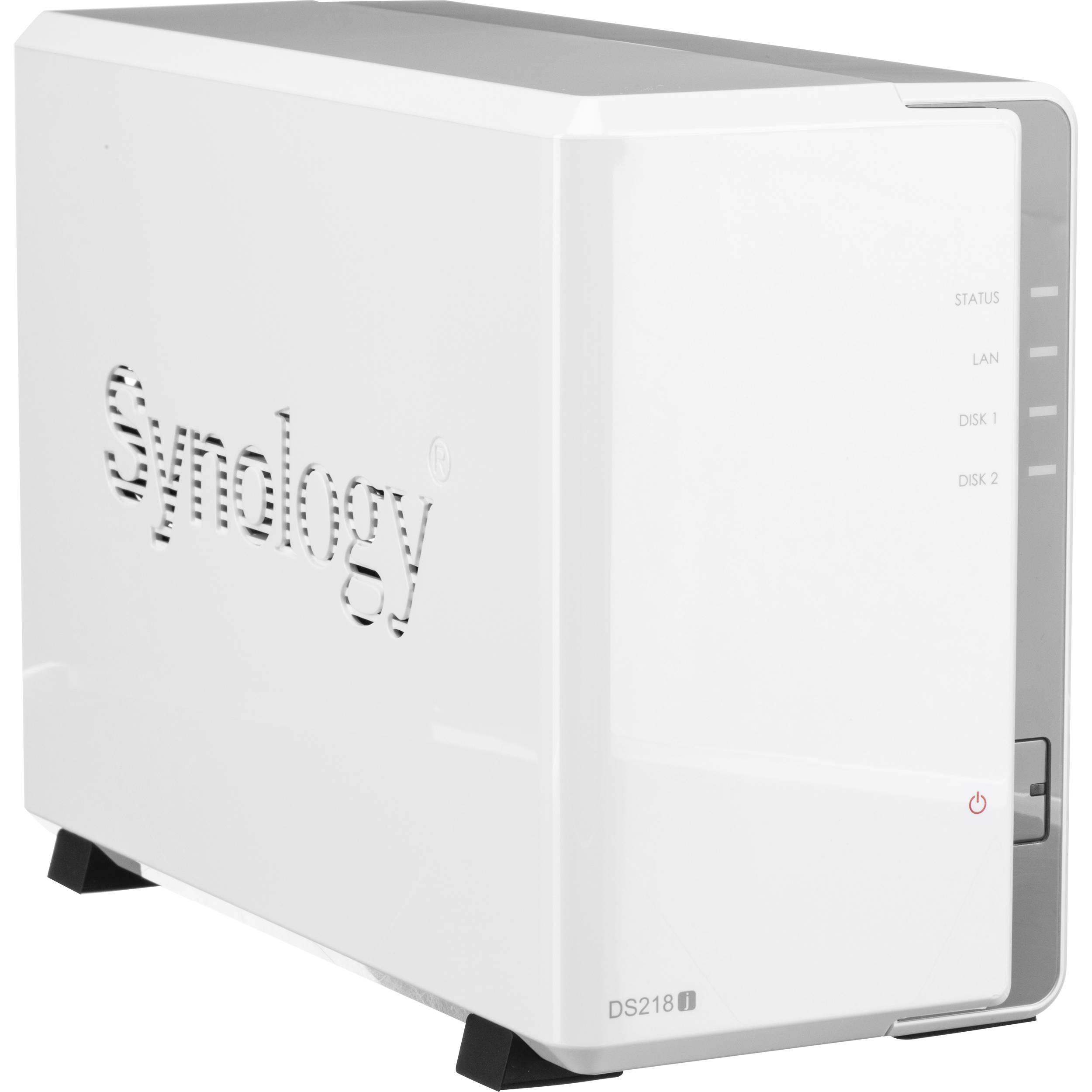 Synology DiskStation DS218j 2-Bay NAS Enclosure