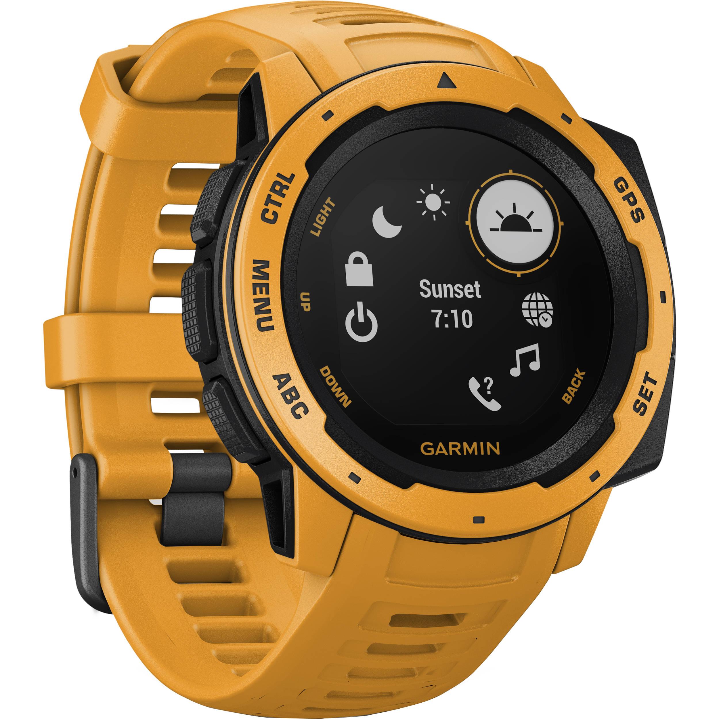 Garmin Instinct Outdoor GPS Watch (Sunburst)