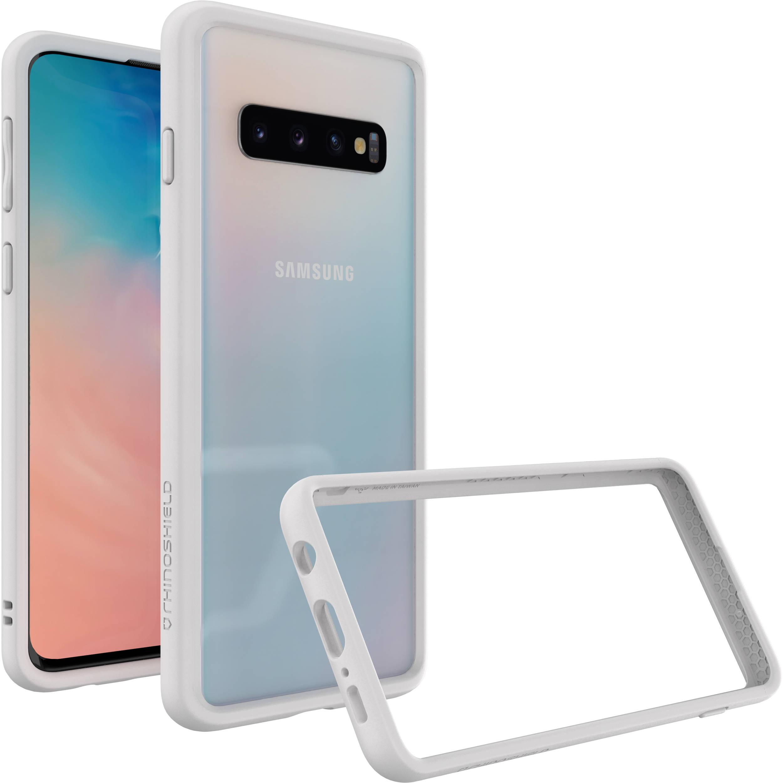 wholesale dealer d7786 24ff8 RhinoShield CrashGuard Bumper Case for Samsung Galaxy S10 (White)