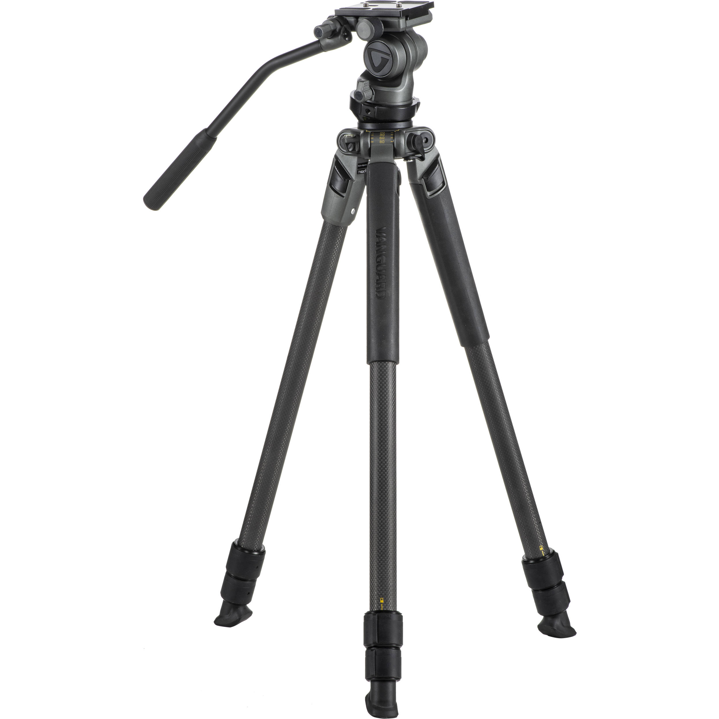 Vanguard Alta Pro 2V 263CV Carbon Fiber Video Tripod with Alta PH-114V Video Head