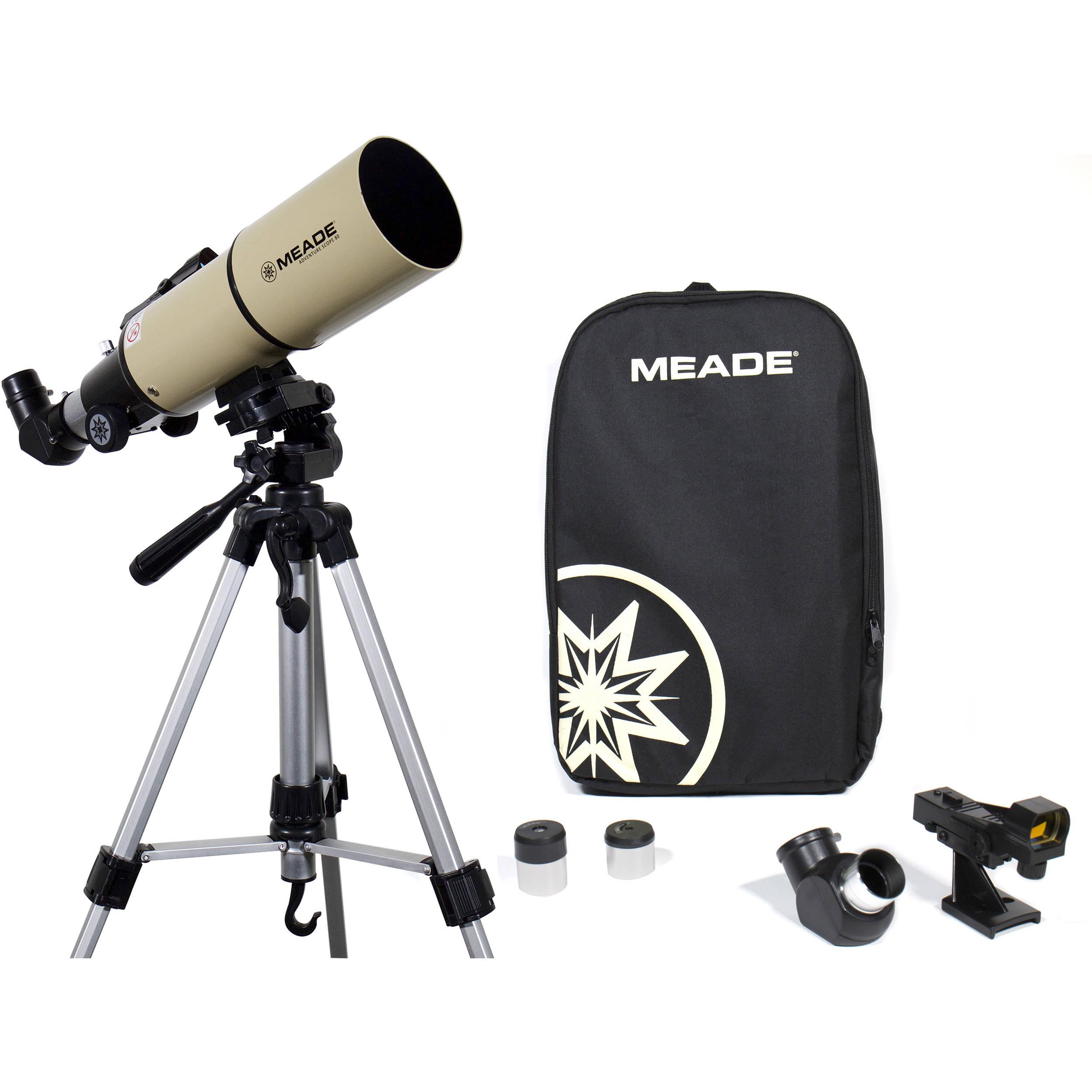 Meade Adventure Scope 80mm f/5 Refractor Telescope