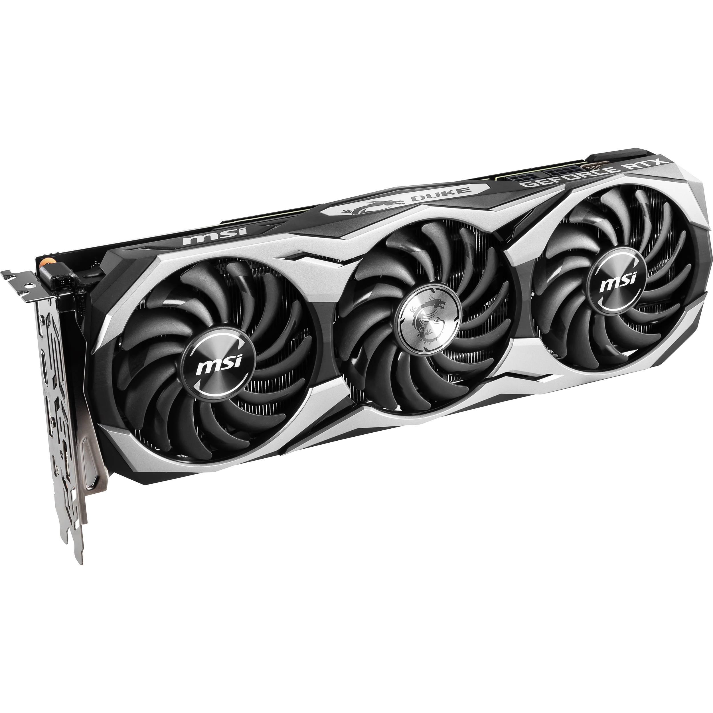 MSI GeForce RTX 2070 DUKE OCV1 Graphics Card
