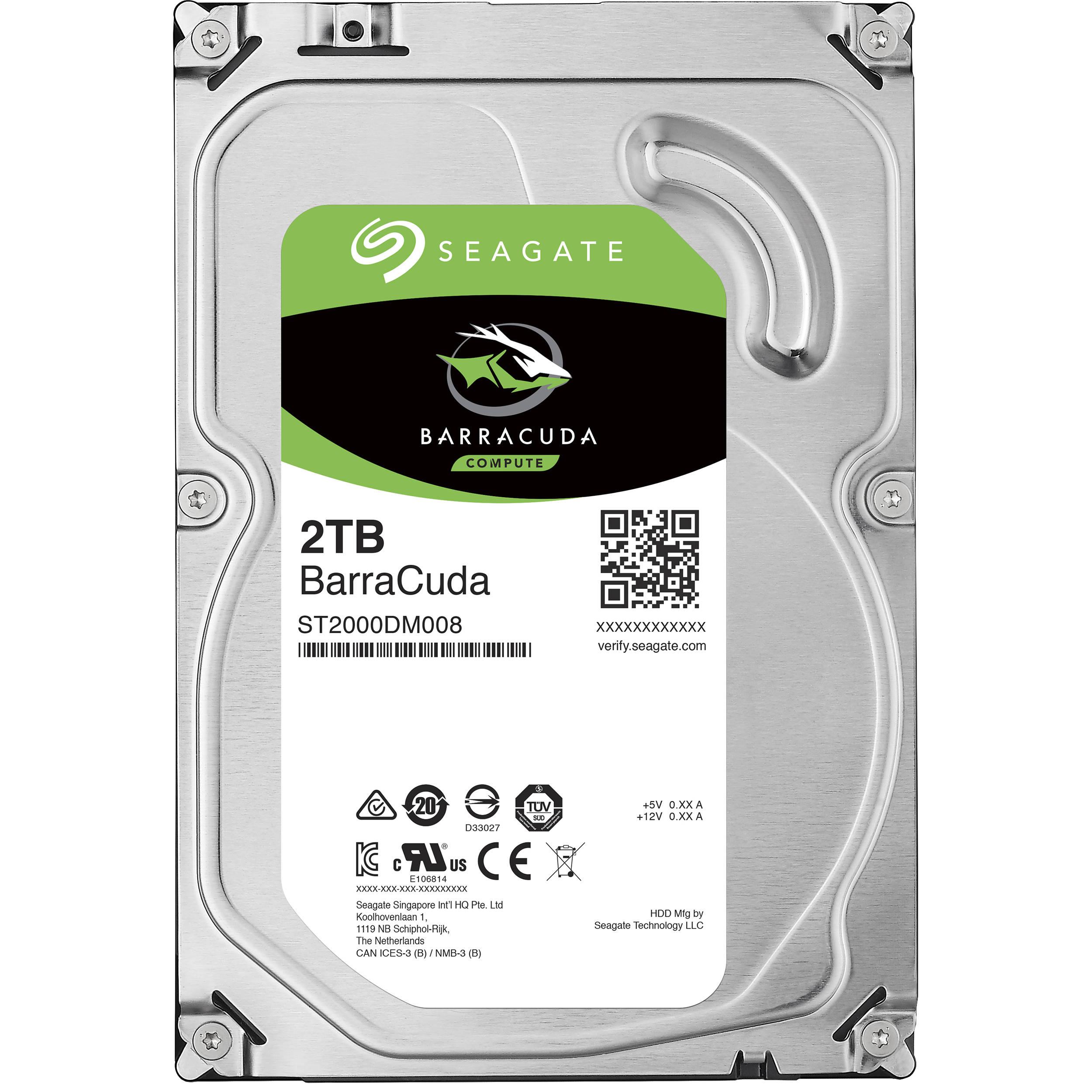 SEAGATE Desktop HDD BARRACUDA 1TB hard drive SATA INTERNAL 7200 RPM