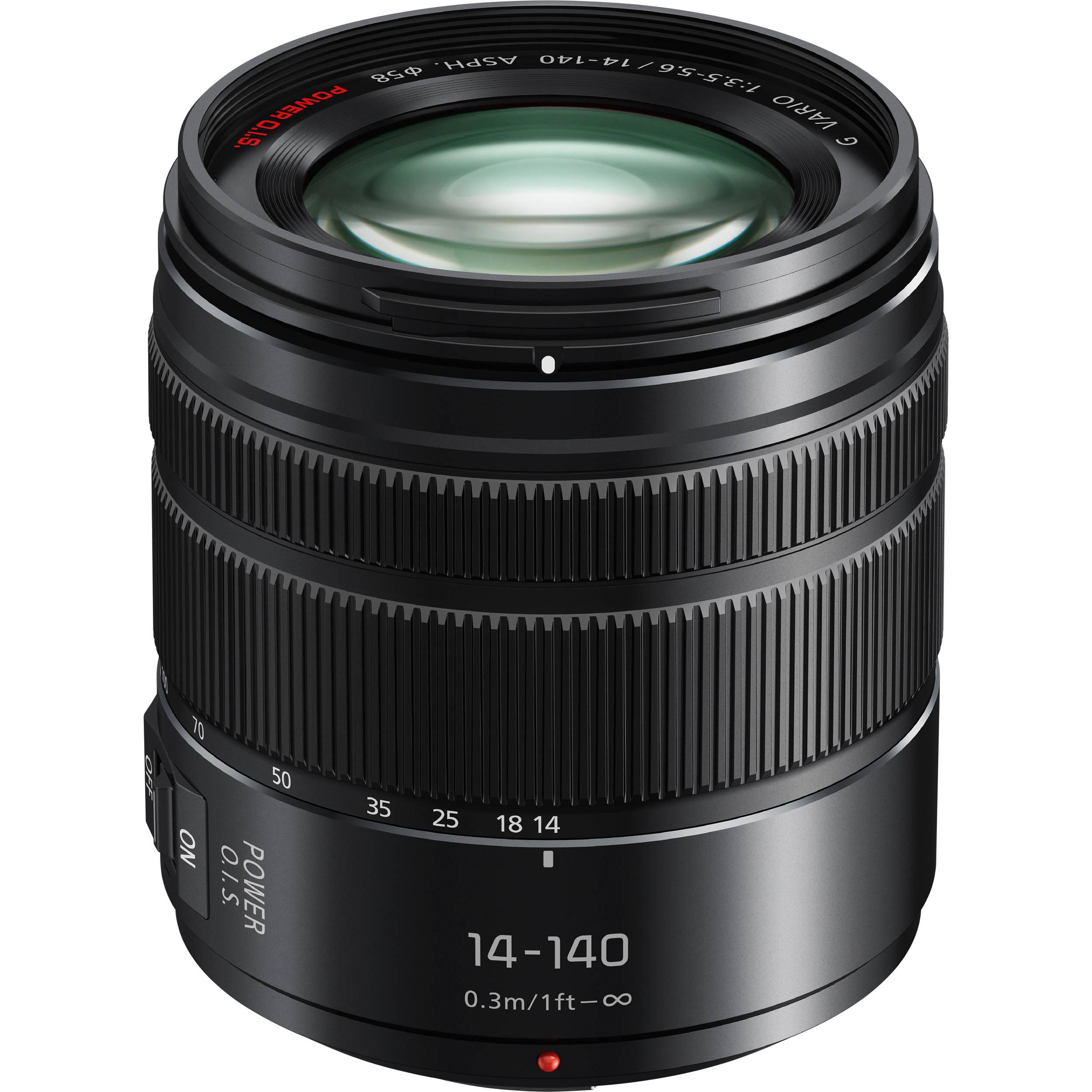 Panasonic Lumix G Vario 14-140mm f/3 5-5 6 II ASPH  POWER O I S  Lens