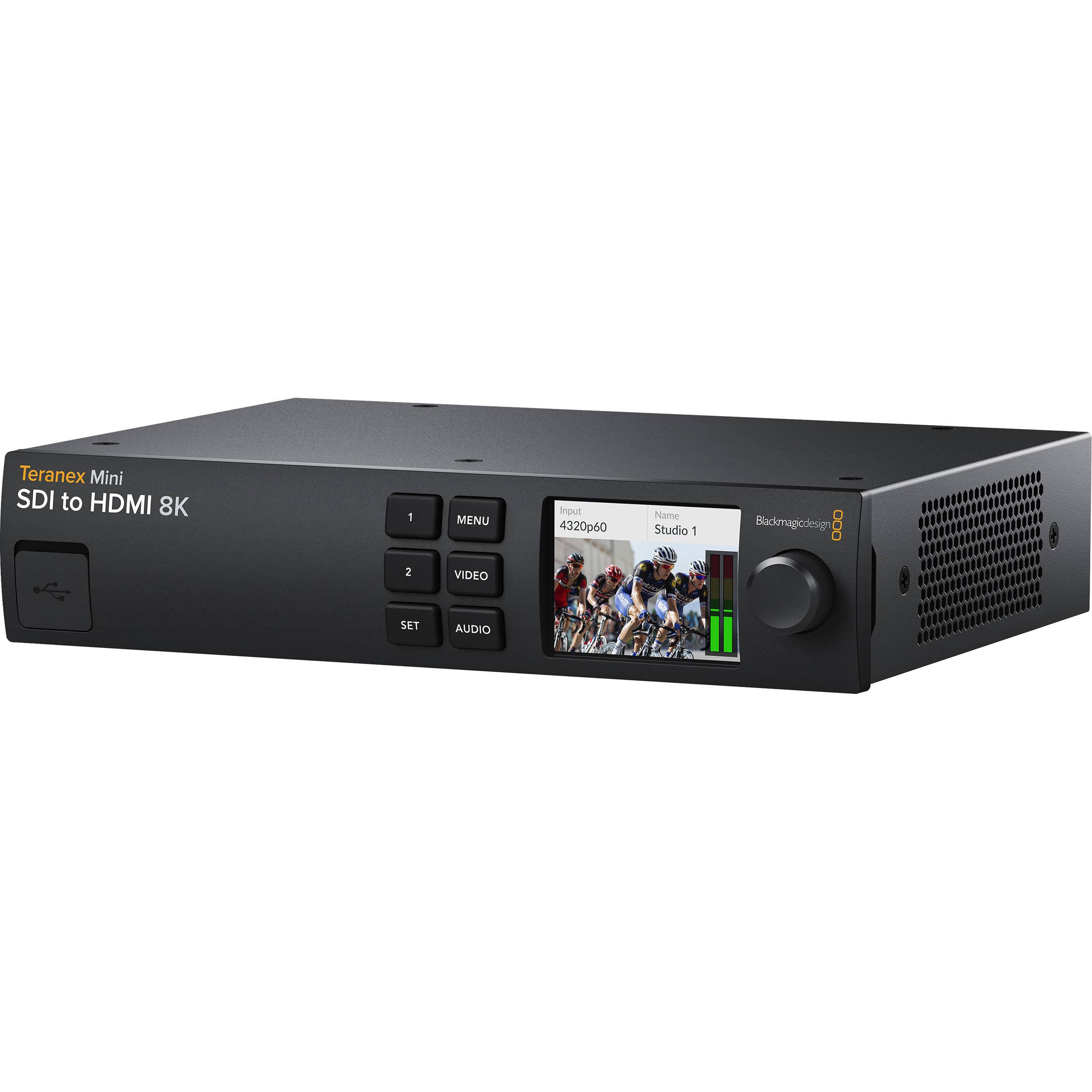 Blackmagic Design Teranex Mini SDI to HDMI 8K Converter and Monitoring  Solution