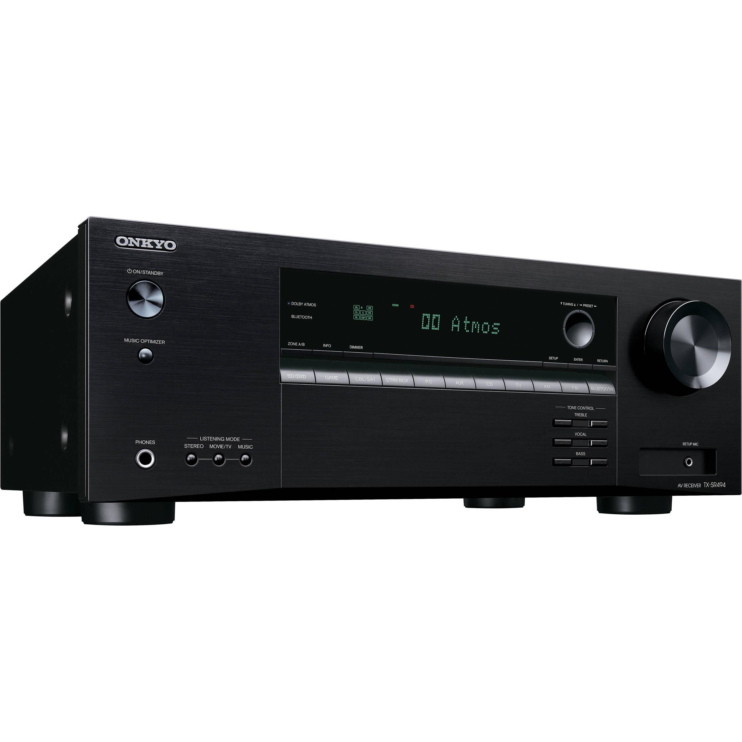 Onkyo TX-SR494 7 2-Channel A/V Receiver