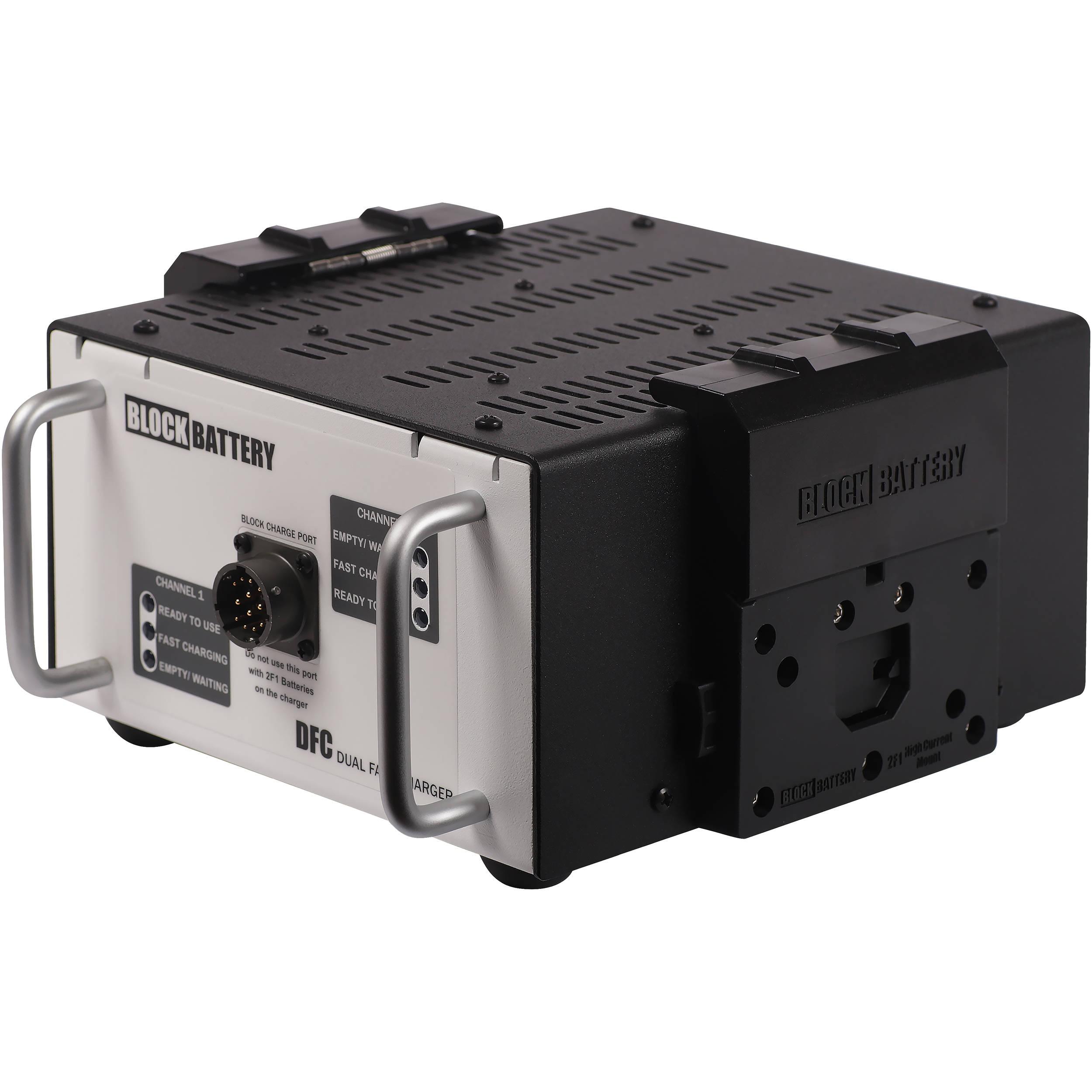 Nickel Metal Hydride Battery >> Blockbattery Dual Fast Charger For Nickel Metal Hydride Blocks And 2f1 Batteries