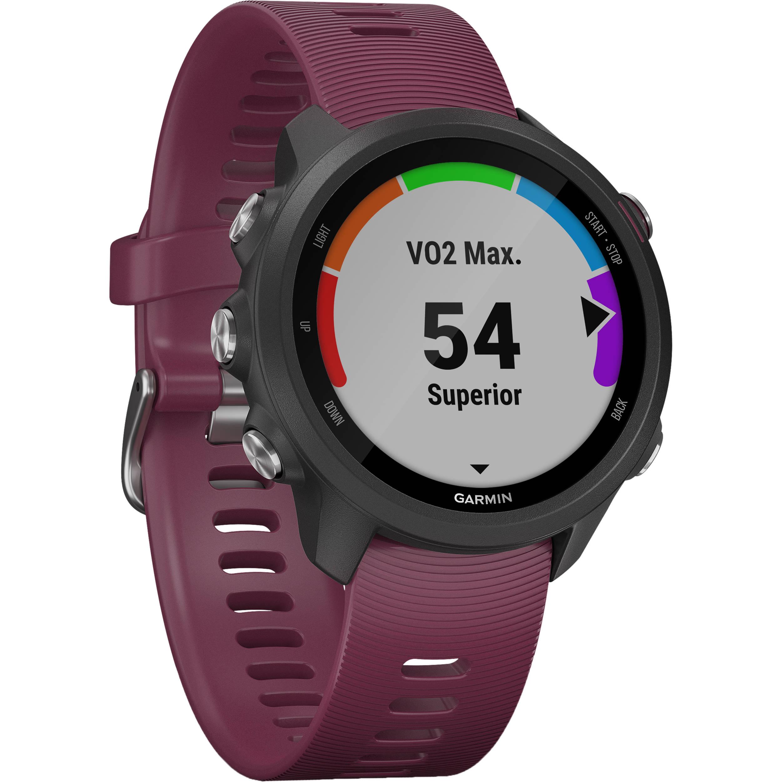 Garmin Forerunner 245 GPS Running Smartwatch (Berry)