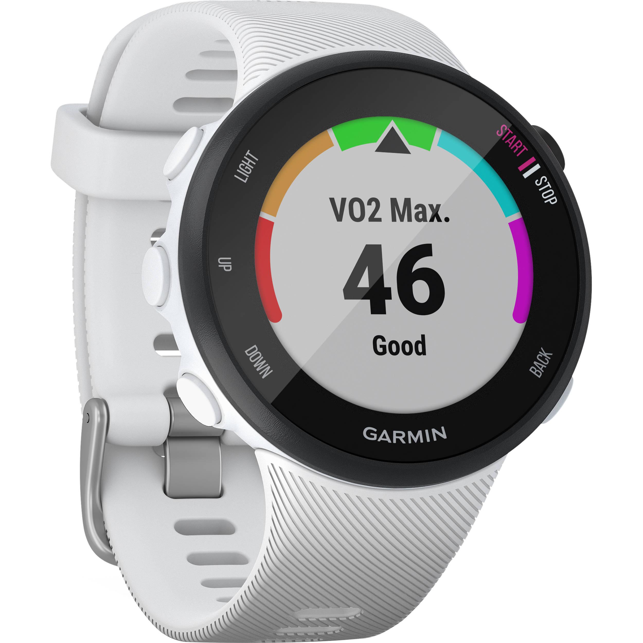 Garmin Forerunner 45SGPS Running Watch (39mm, White)