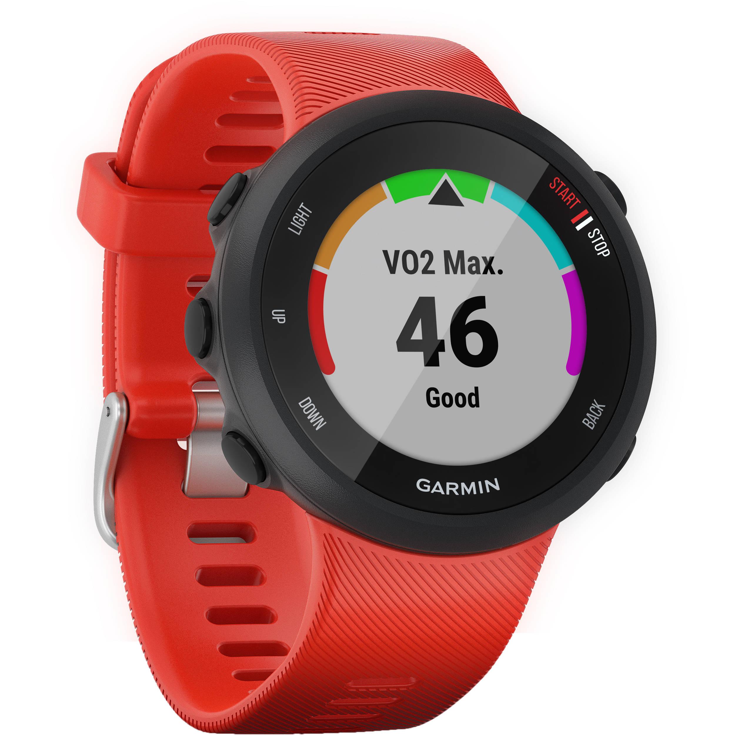 Garmin Forerunner 45GPS Running Watch (42mm, Lava Red)