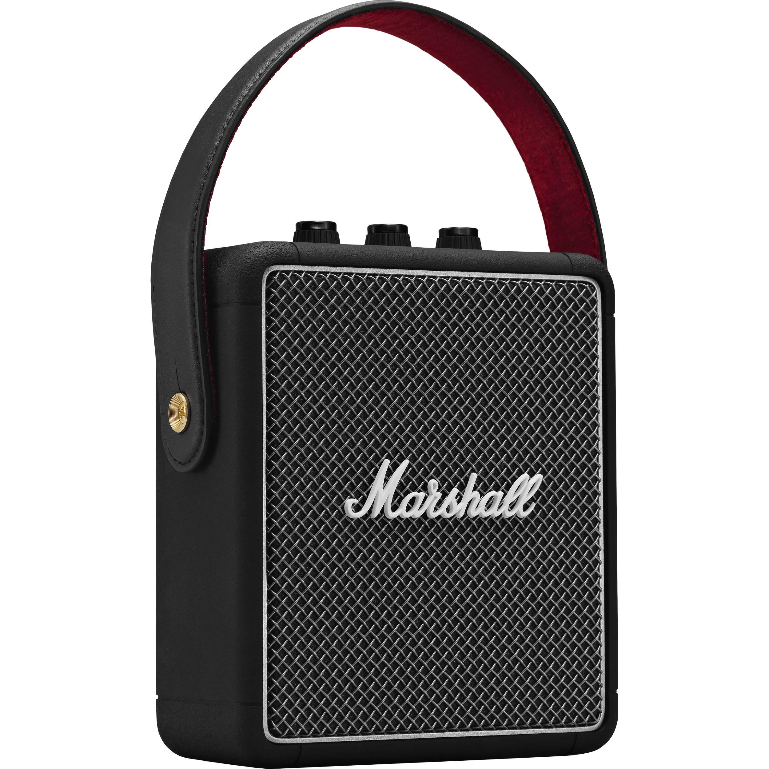 Marshall Stockwell II Portable Bluetooth Speaker (Black)