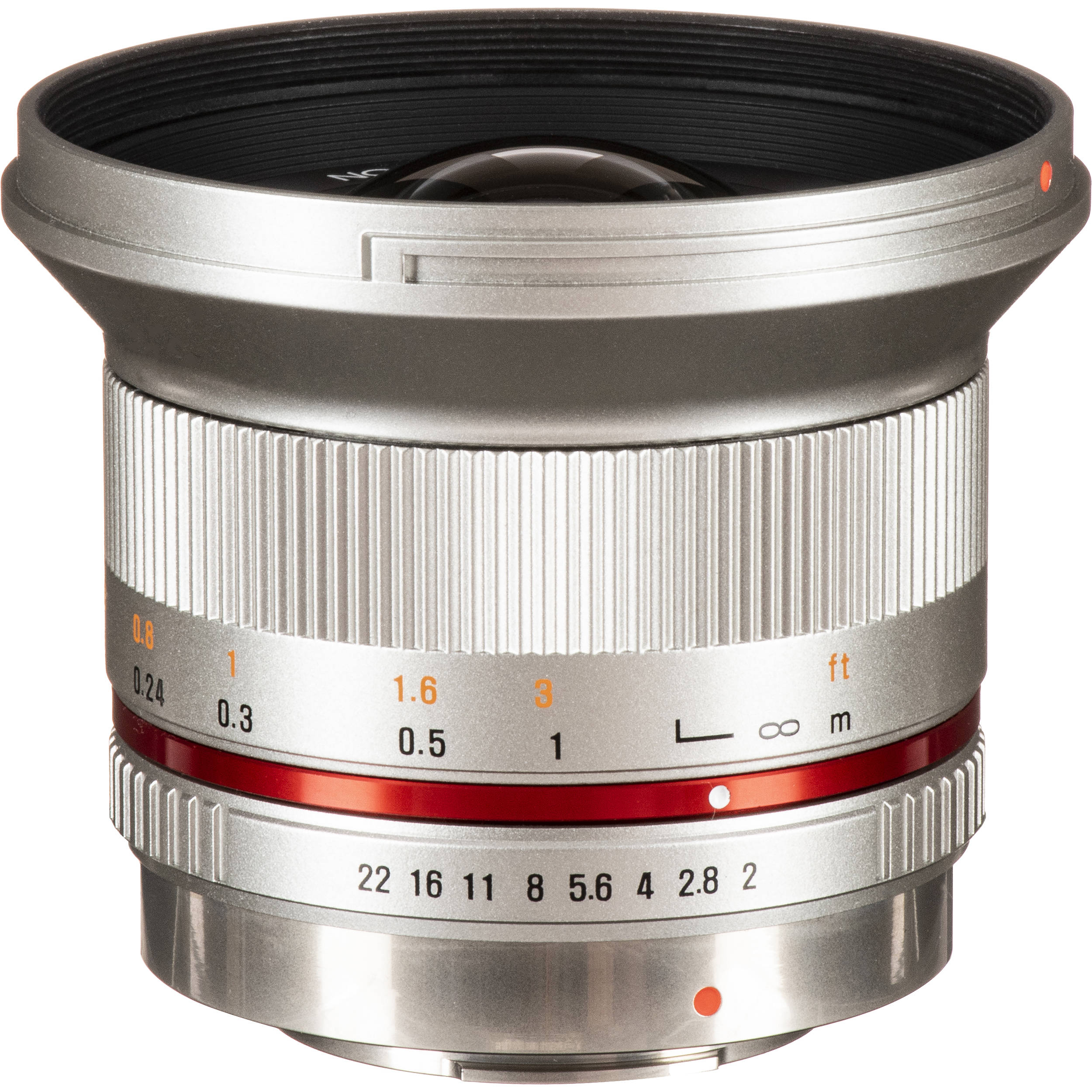 Rokinon 12mm f/2 0 NCS CS Lens for Micro Four Thirds Mount (Silver)