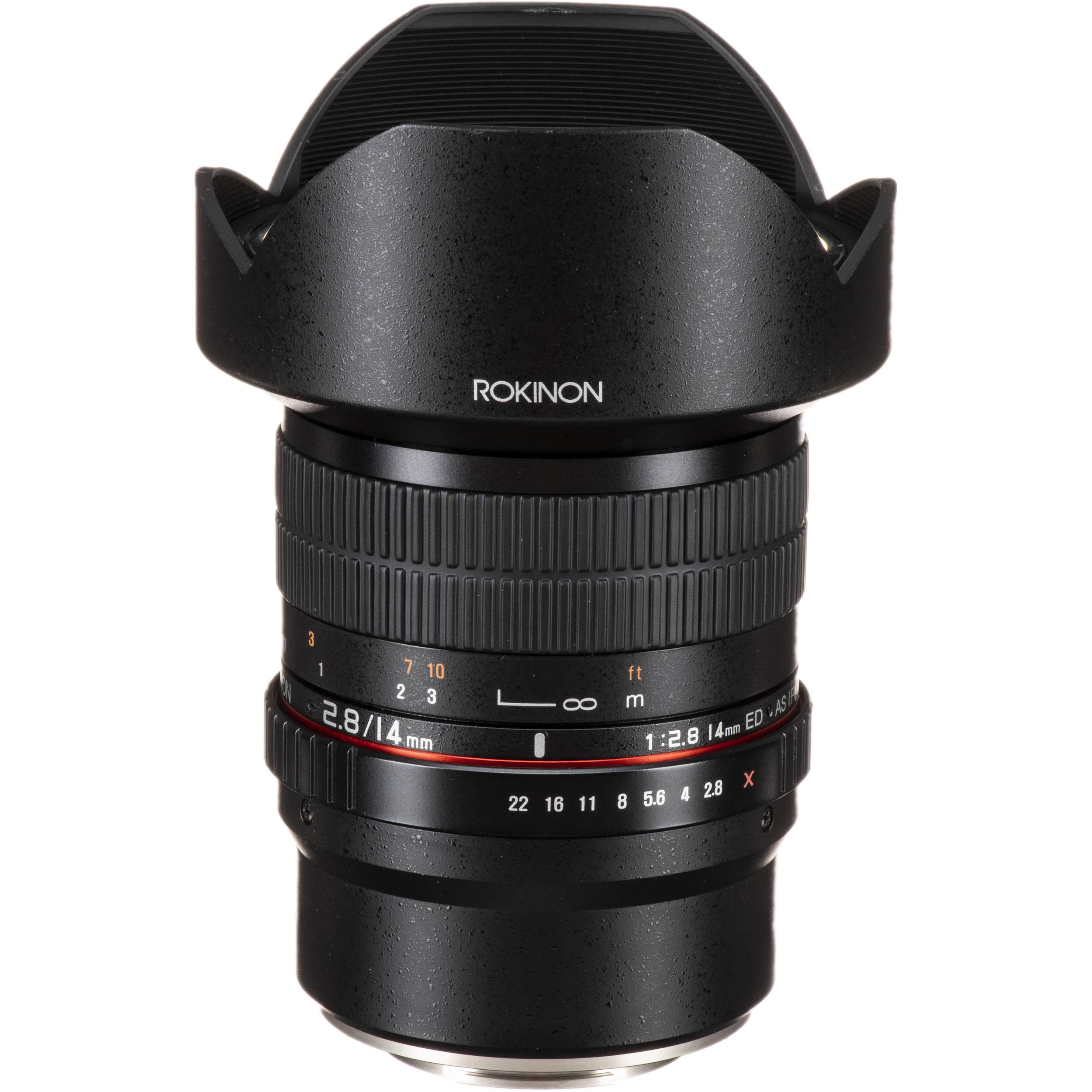 Rokinon 14mm f/2 8 ED AS IF UMC Lens for Fujifilm X Mount