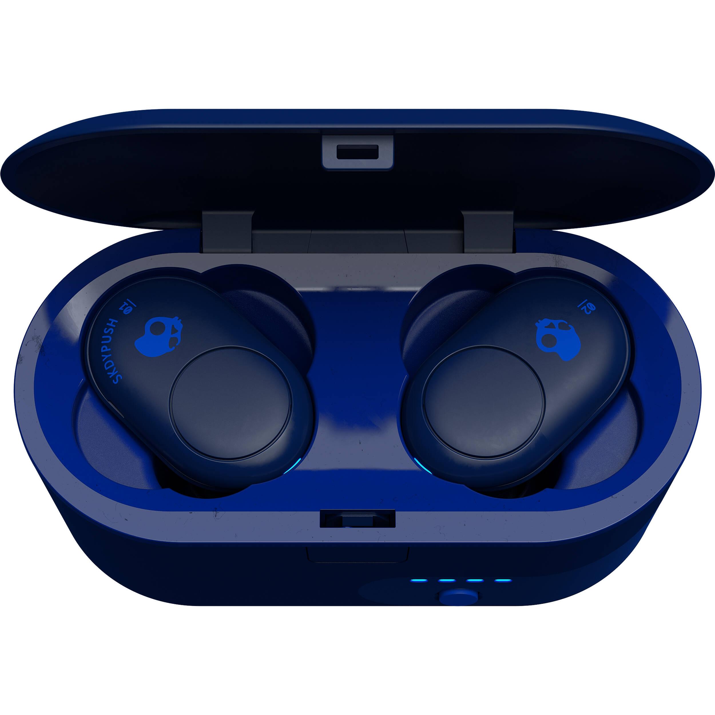 mejor venta de liquidación lindo barato Skullcandy Push Truly Wireless Earbuds (Indigo Blue)