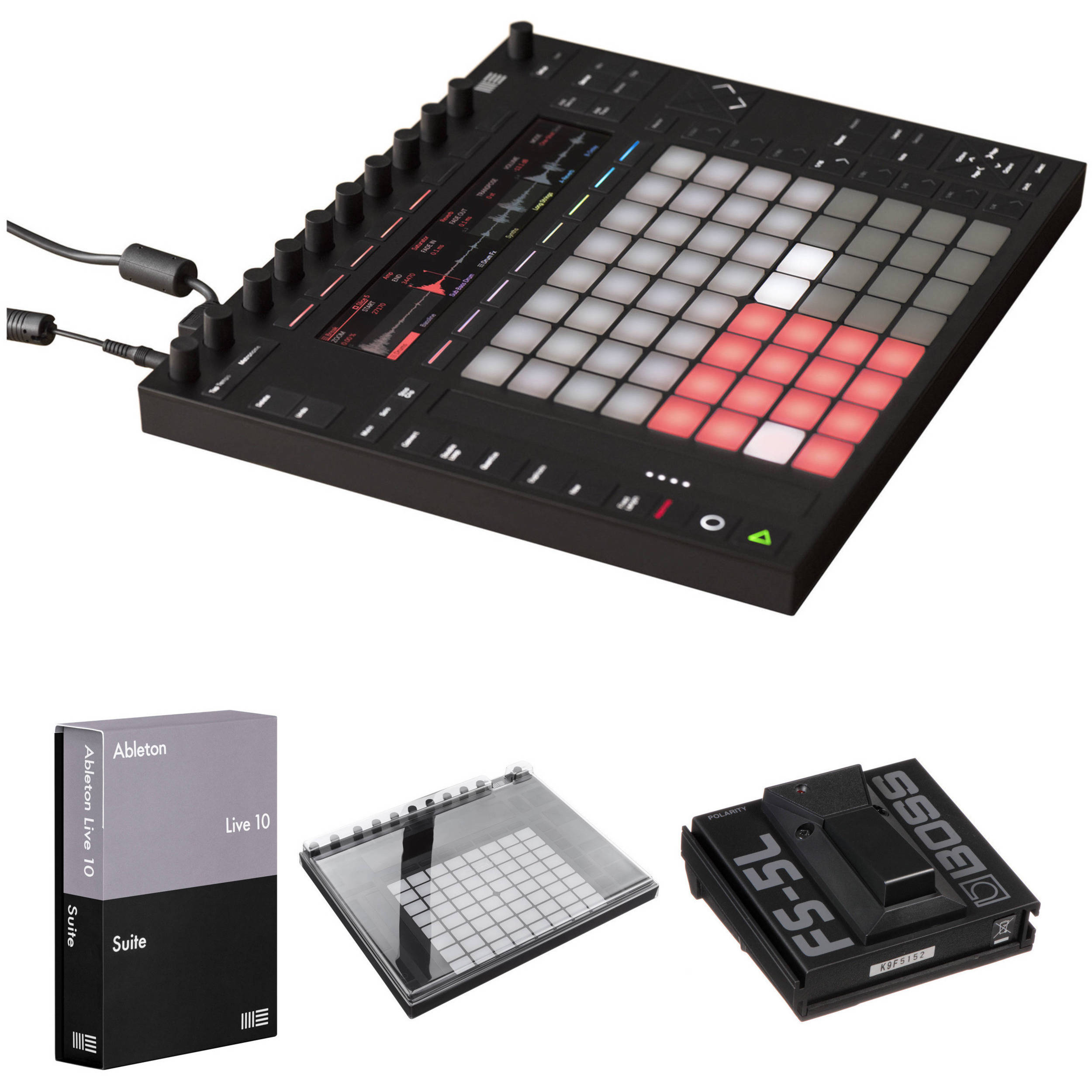 Ableton Push 2 Controller Kit with Live 10 1 Suite and Decksaver