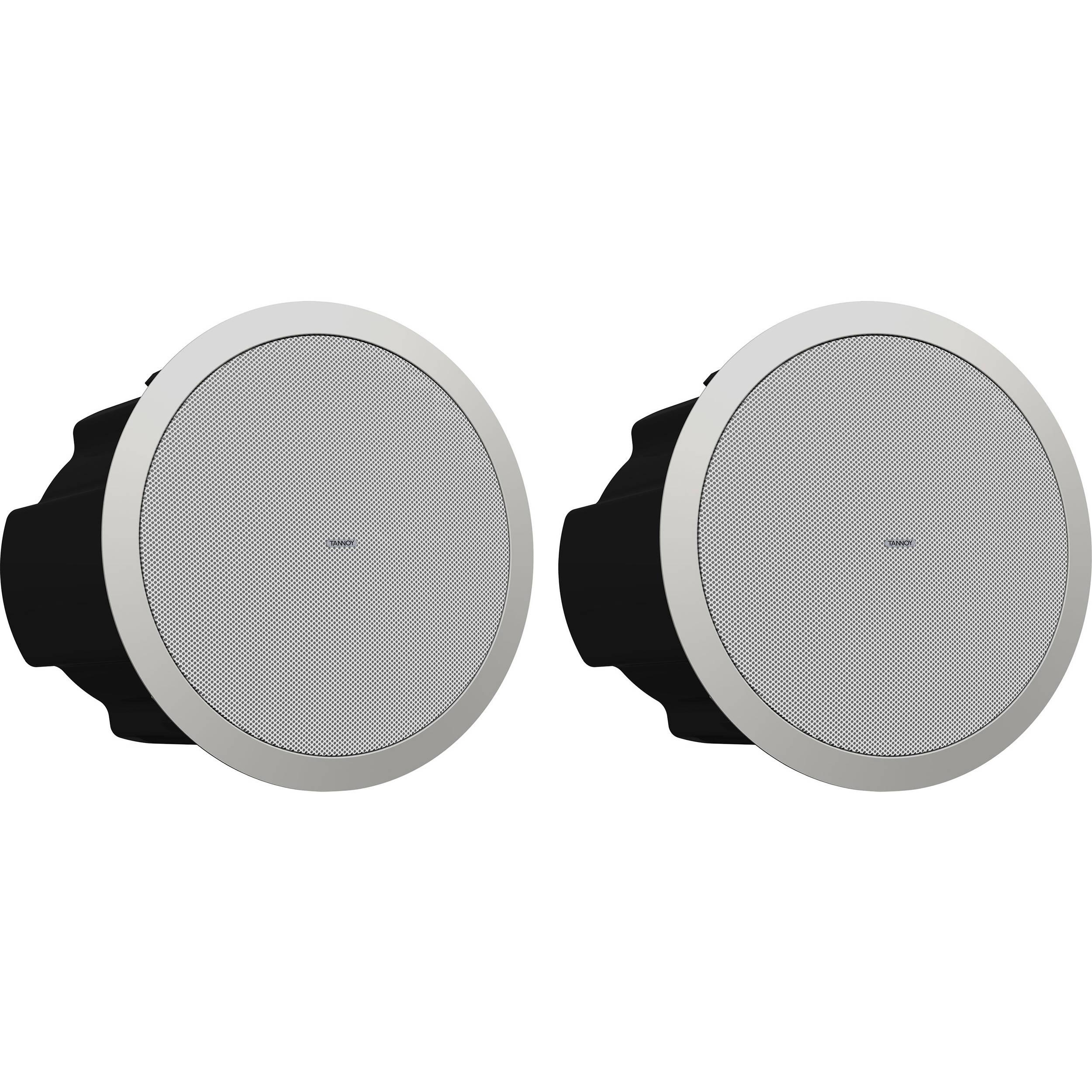 Tannoy CVS 8 Coaxial In-Ceiling Loudspeaker (Pair, 8