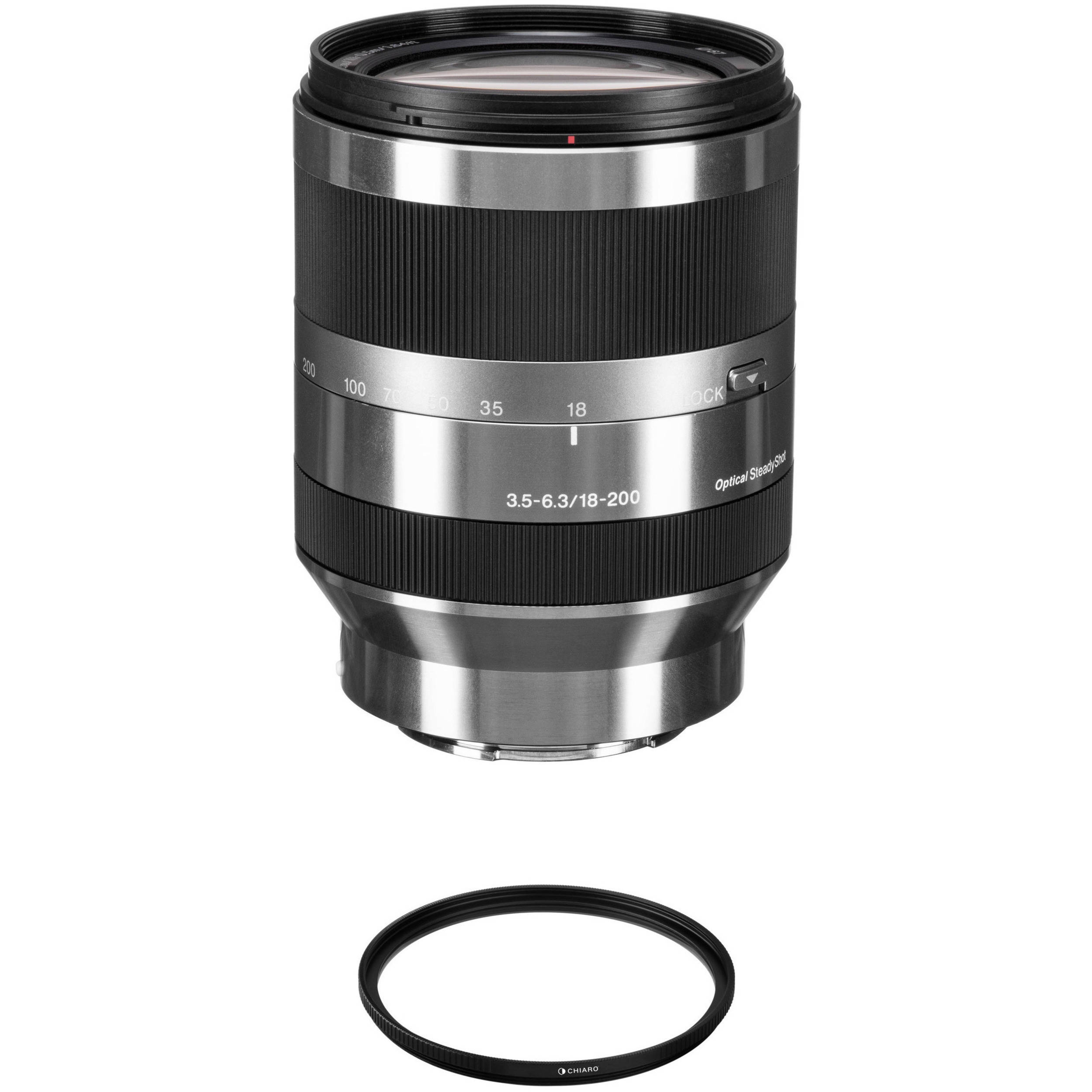 Gadget Place 67mm UV Filter for Sony E PZ 18-200mm F3.5-6.3 OSS