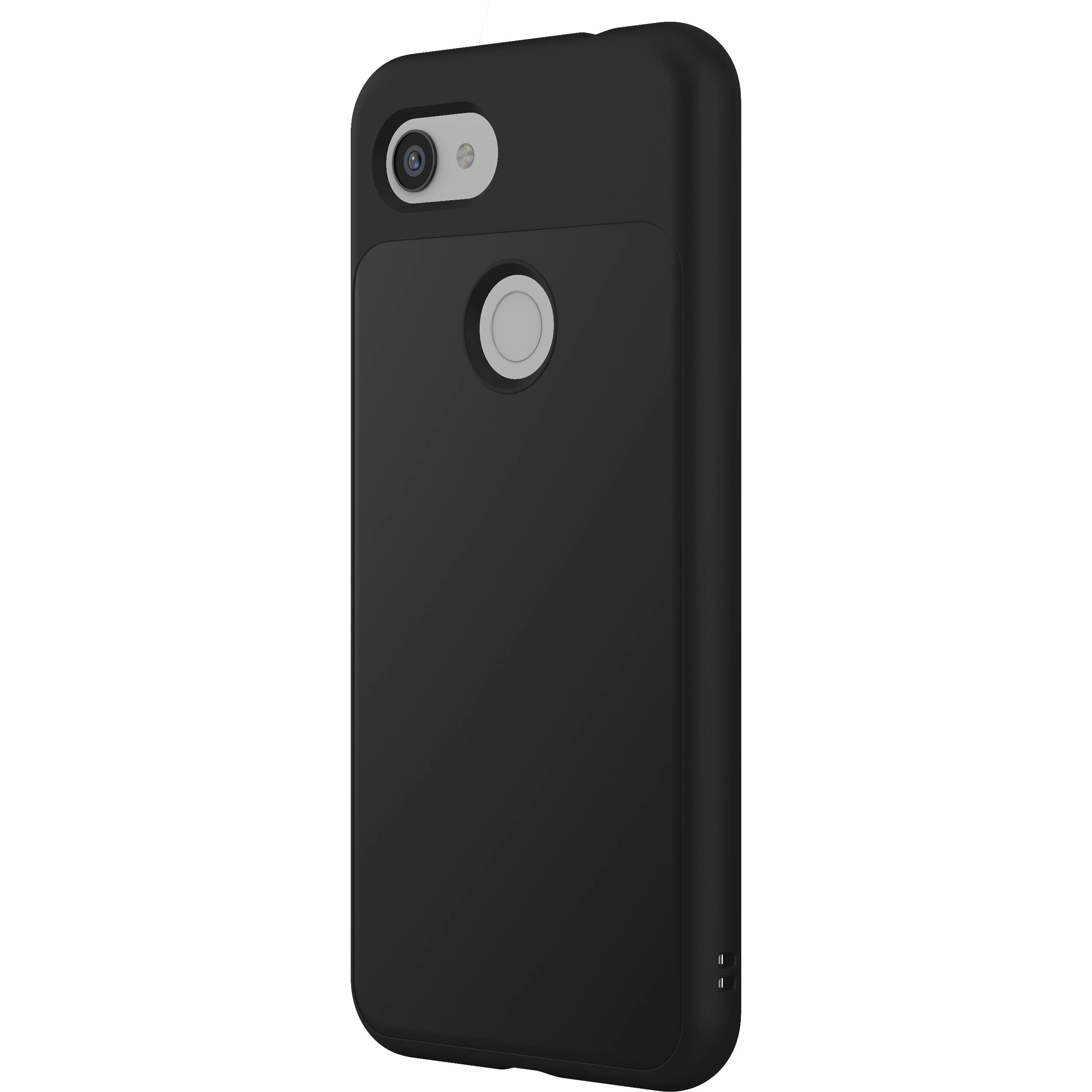 cheap for discount 91e6a a55cf RhinoShield SolidSuit Case for Google Pixel 3a XL (Classic Black Finish)