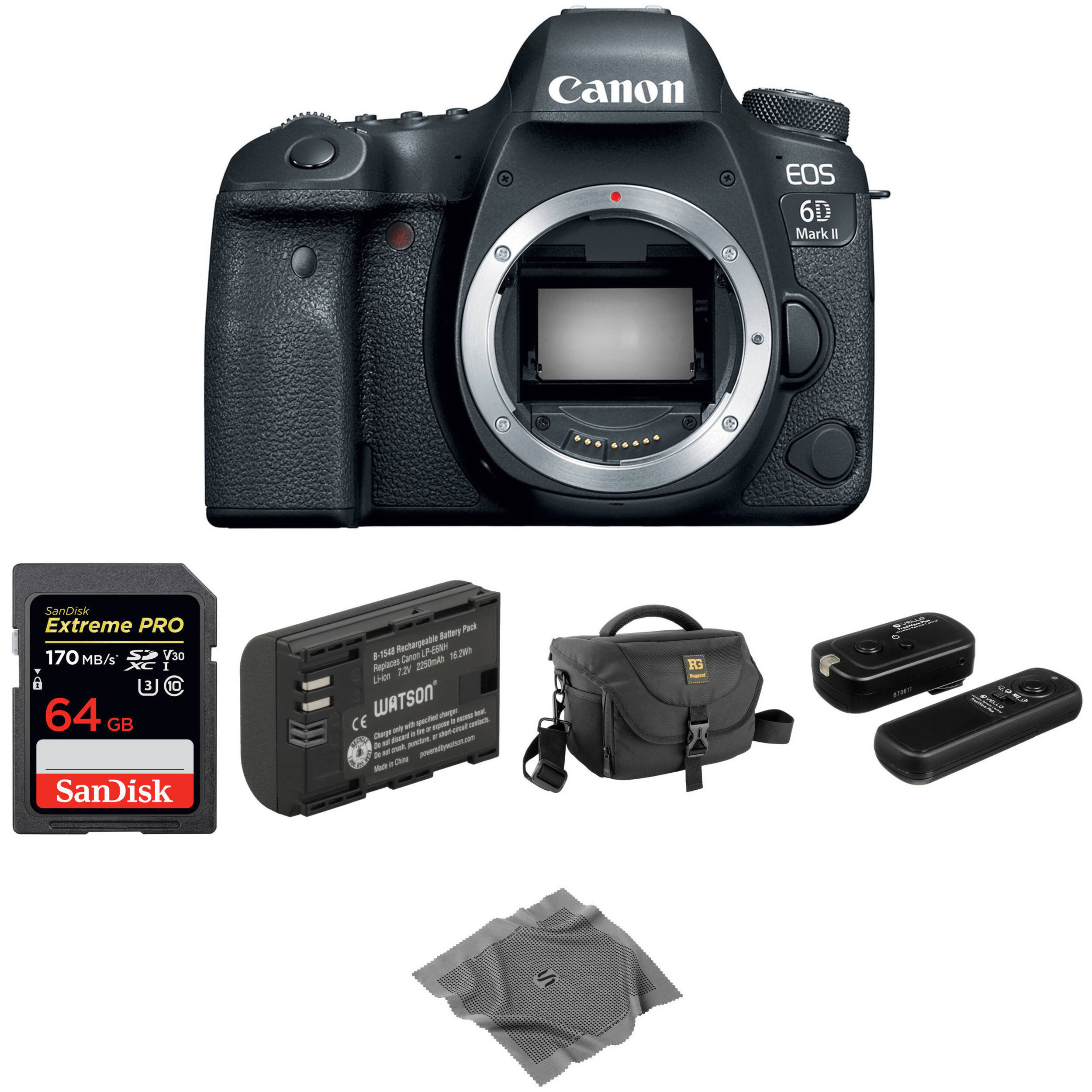 Maximal Power Replacement Battery Grip for Canon  EOS 5D Mark II Black