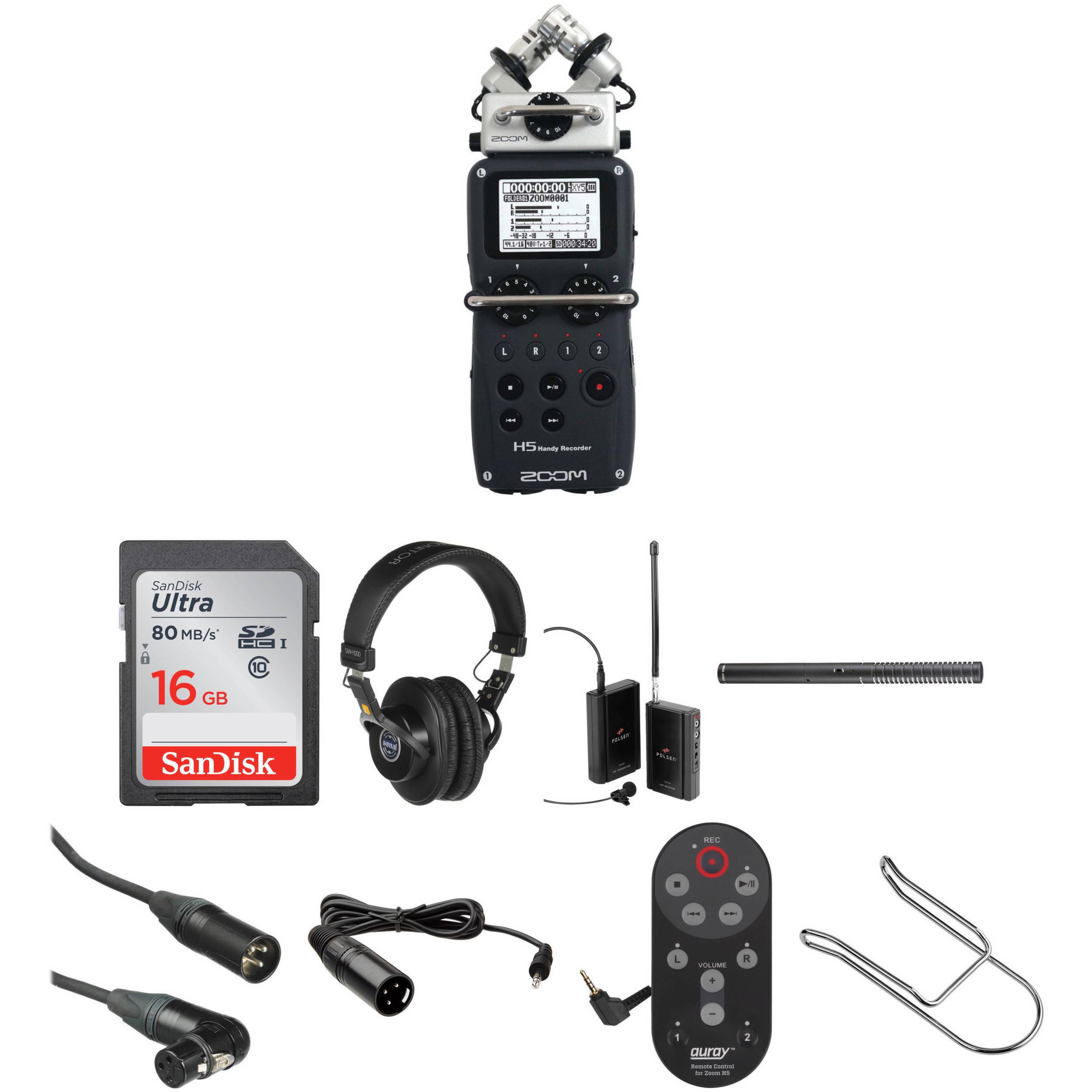 Zoom H5 Wedding Videographer's Audio Kit