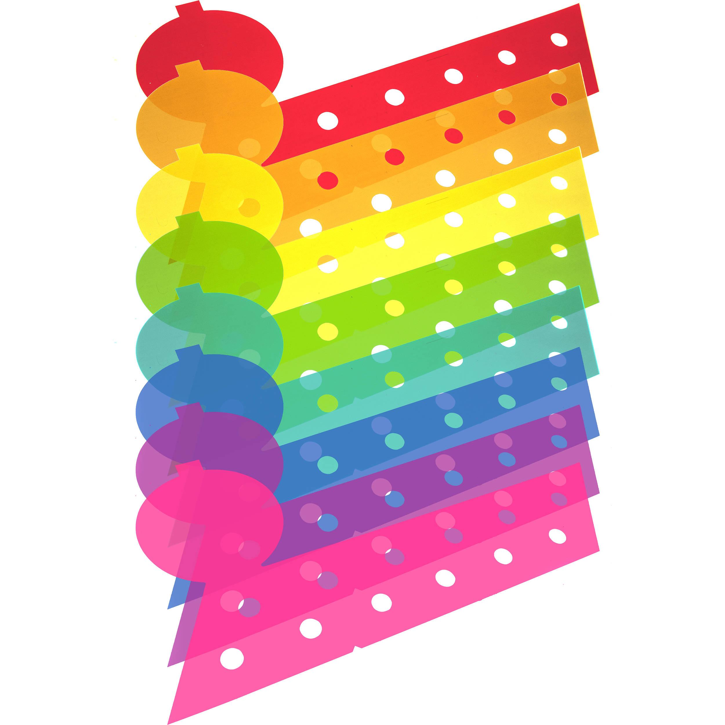 Flashgels Creative Color Gel Kit for Godox AD360 AD200 and eVOLVStrobes Flashpoint Streaklight
