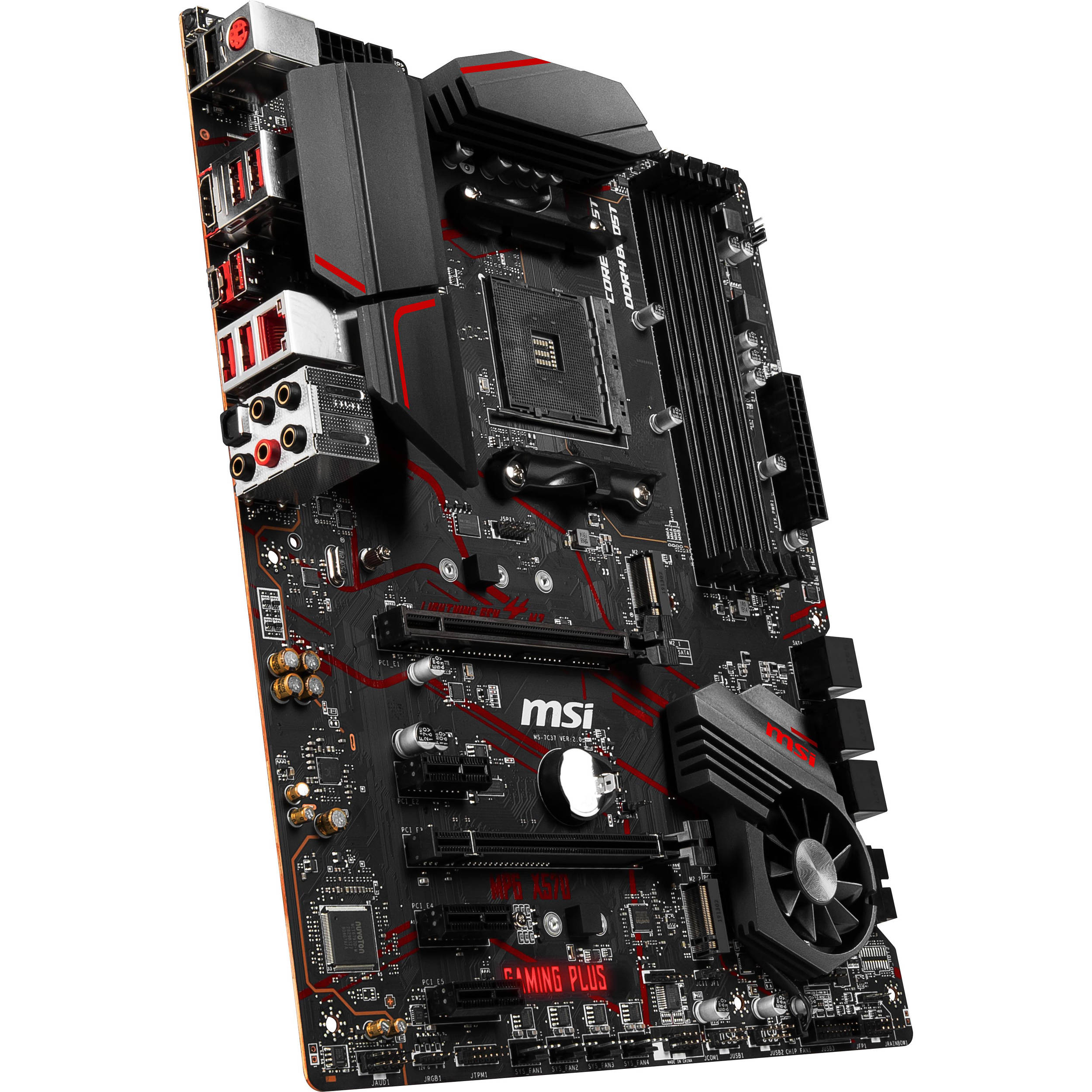 Image result for Mainboard MSI MPG X570 Gaming Plus