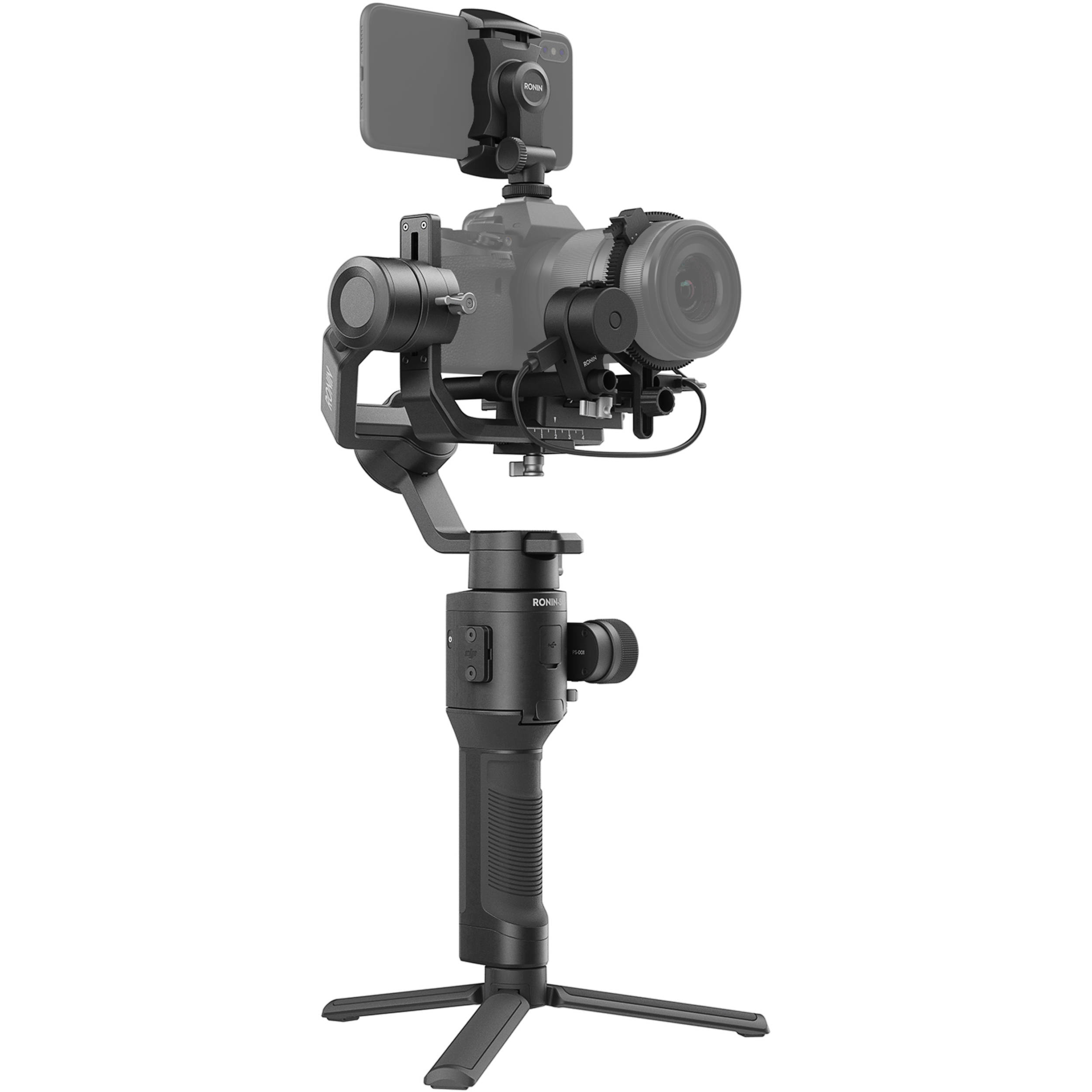 Ungehinderte Rollachse /& Sony NP-FZ100 Akku DJI Ronin-SC Pro Combo Gimbal InfoLITHIUM-Akku Z-Serie, 7,2V//16,4Wh Einhandgimbal f/ür spiegellose Kamerasysteme 2280 mAh schwarz