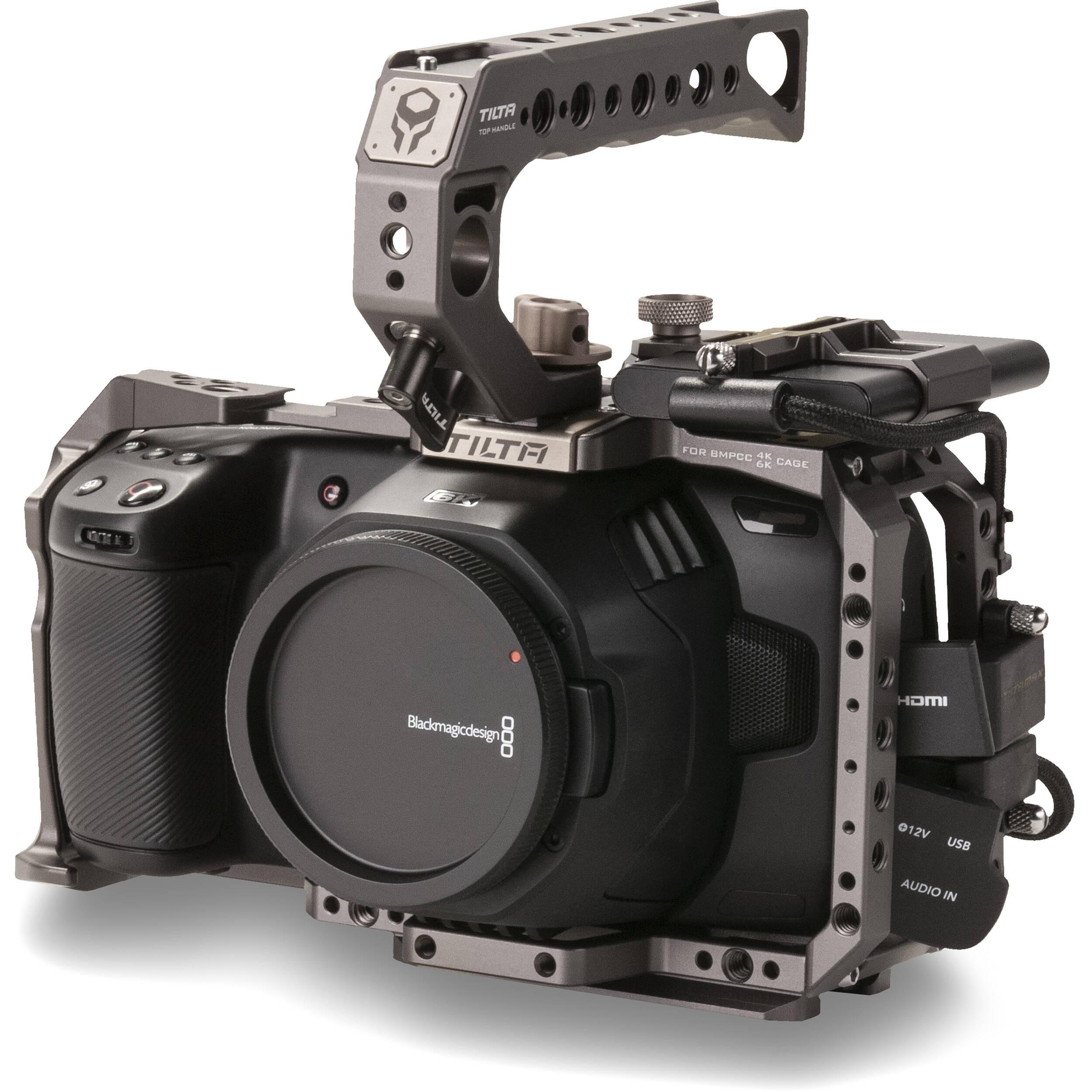 Tilta Camera Cage For Blackmagic Design Pocket Cinema Ta T01 B G