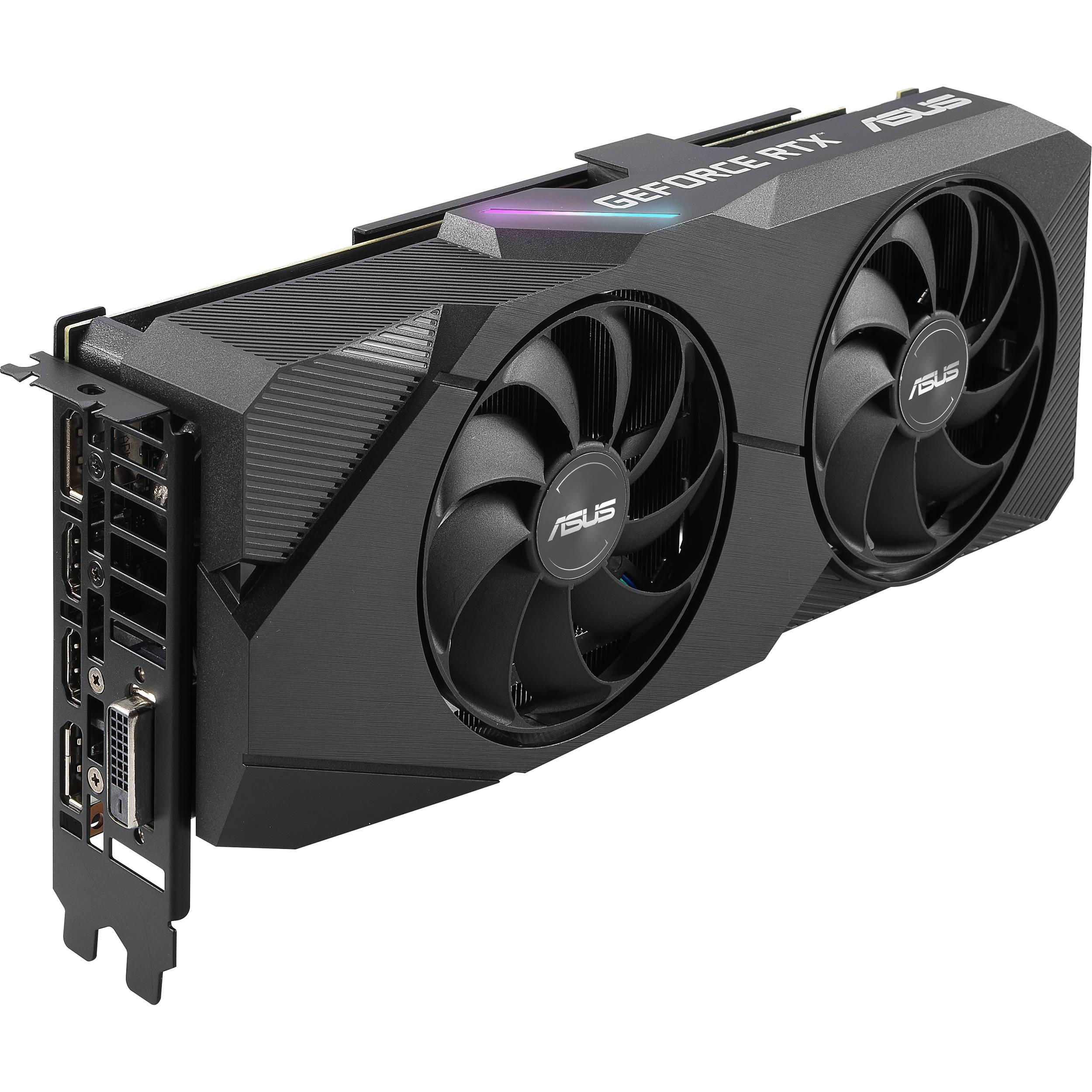ASUS Dual GeForce RTX 2060 SUPER EVO OC Edition Graphics Card